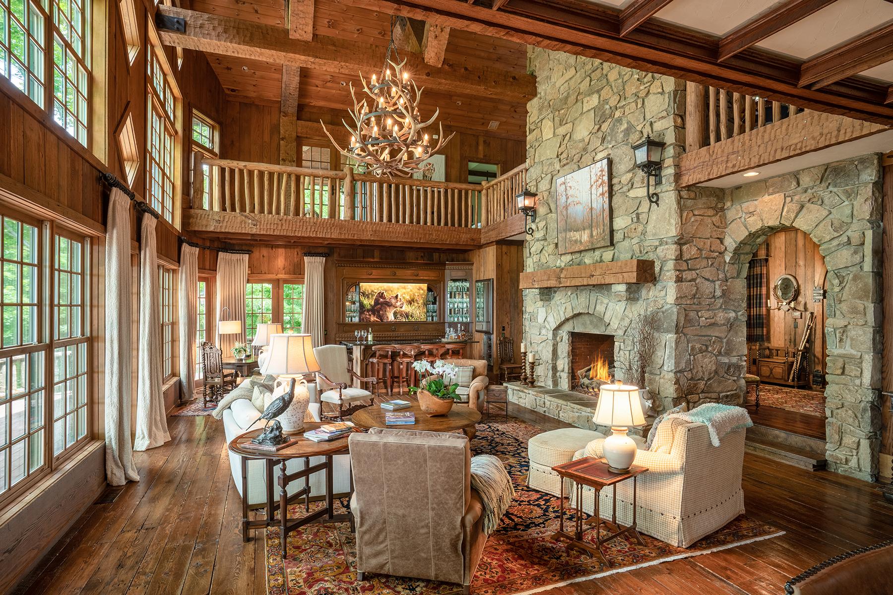 Single Family Homes for Sale at DIAMOND CREEK - BANNER ELK 1820 Rockrose Banner Elk, North Carolina 28604 United States