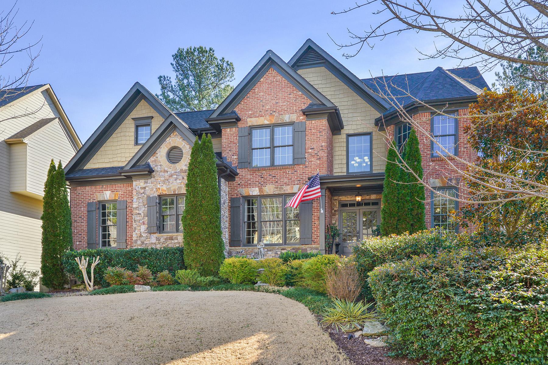 단독 가정 주택 용 매매 에 Stunning Brick And Stone Home In Popular Stone Haven 2884 Olivine Drive Dacula, 조지아 30019 미국