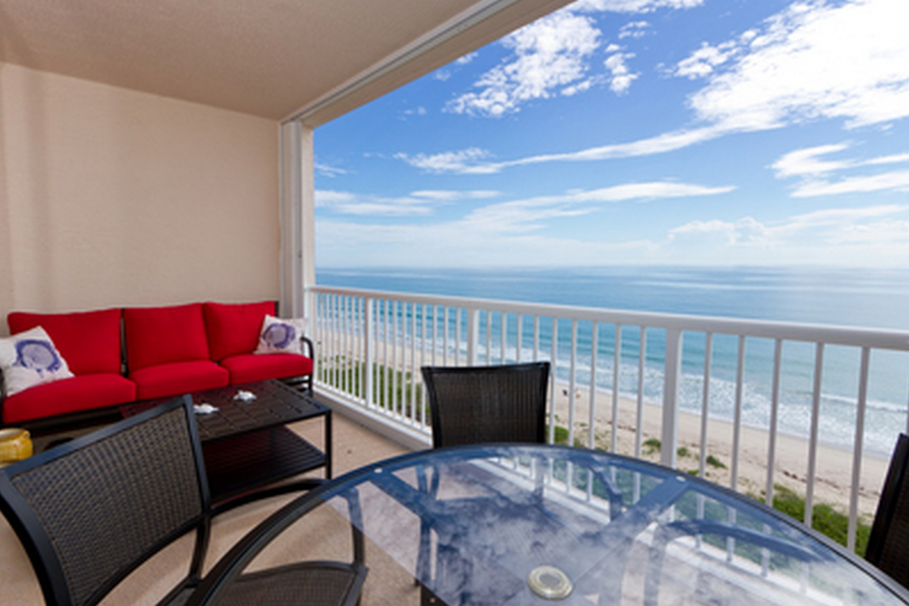 condominiums for Sale at The Sky Touches the Sea of this Ninth Floor Oceanfront Condo! 4160 N Highway A1A #903A Hutchinson Island, Florida 34949 United States