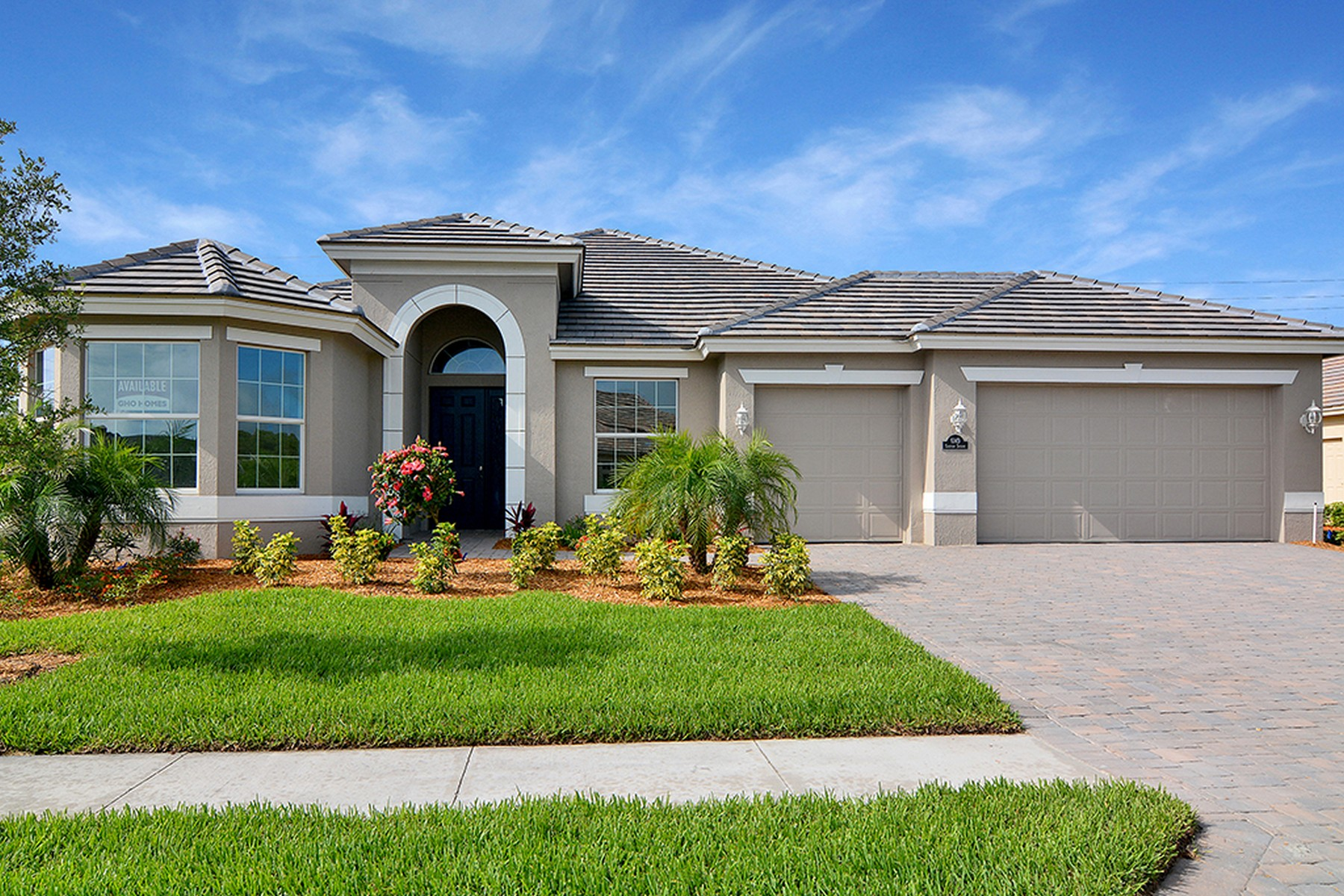 Single Family Home for Sale at Stunning 2BD/2BA+ Den! Ready Fall 2017 6149 Graysen Square Vero Beach, Florida, 32967 United States