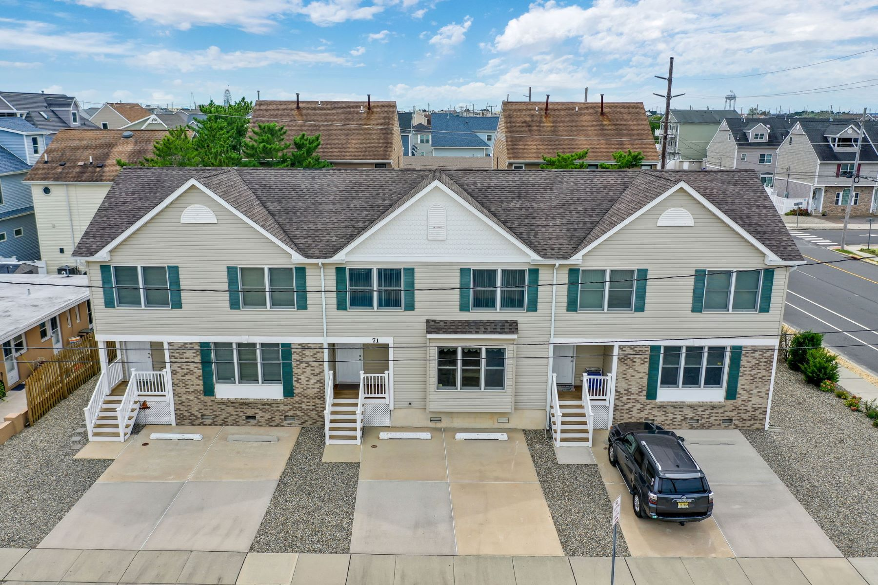 townhouses for Active at Pristine Ocean Block Townhouse 71 Fielder Avenue, Unit #2 Ortley Beach, New Jersey 08751 United States