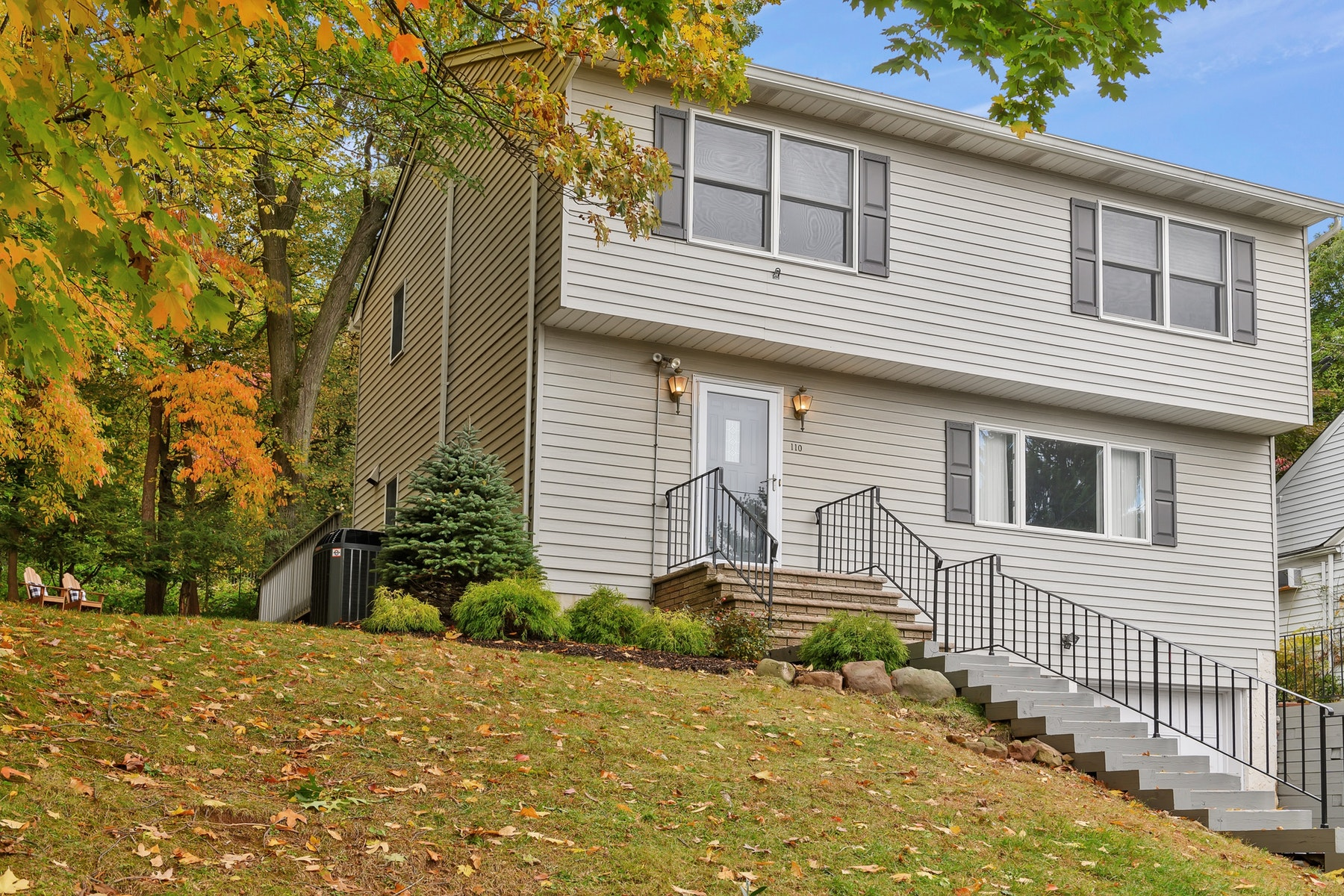 Single Family Homes for Sale at Snugged in the woods colonial 110 Mc Cosh Rd. Clifton, New Jersey 07043 United States
