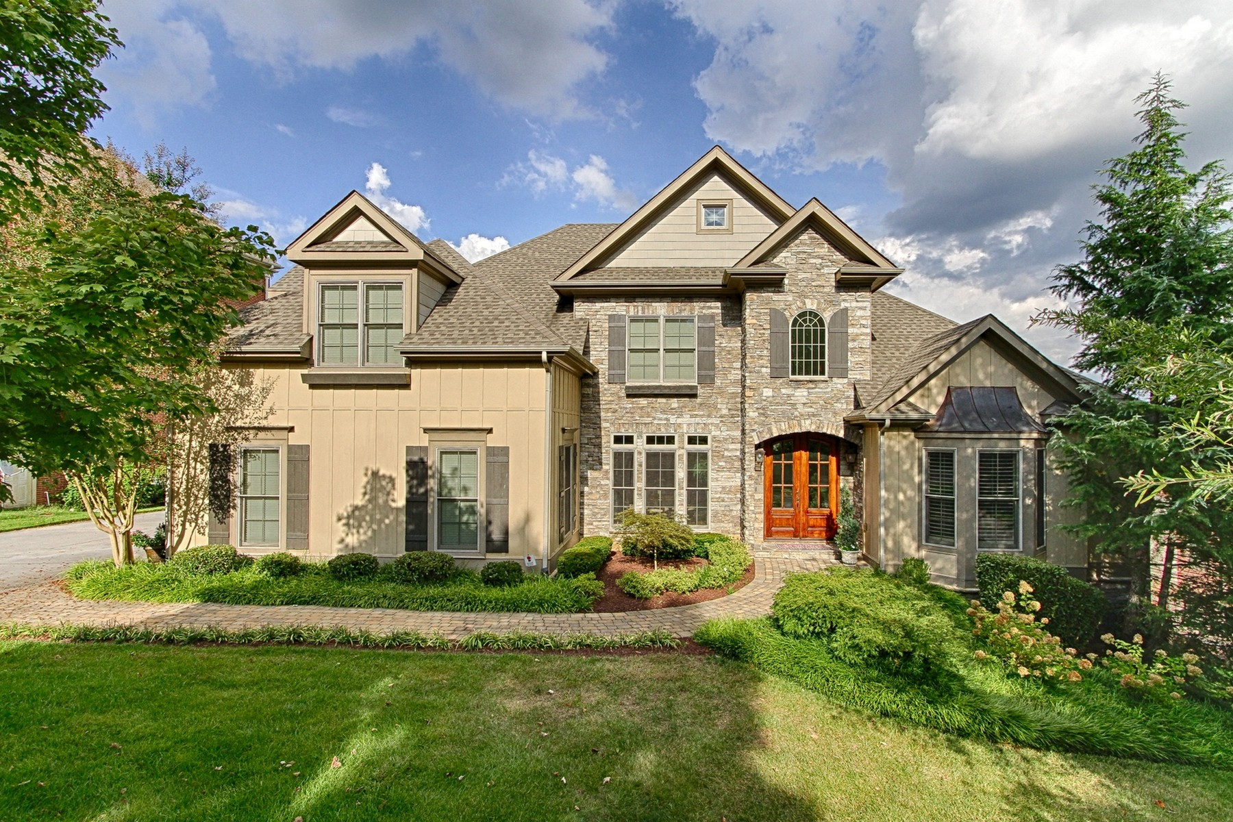 Single Family Home for Sale at Timeless Design...Majestic Views 1015 Gettysvue Drive Knoxville, Tennessee 37922 United States