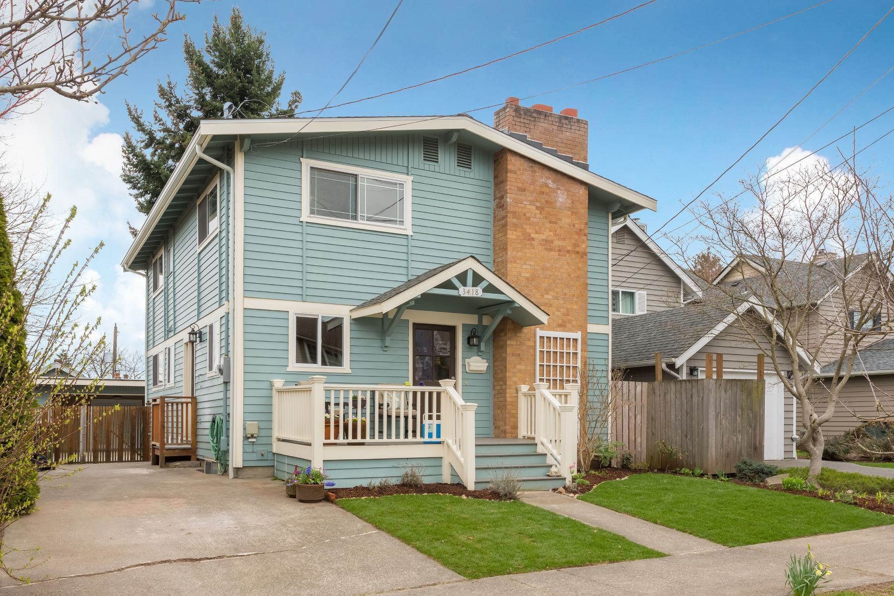 open-houses property at Beautifully updated home nestled in West Seattle's desirable North end!