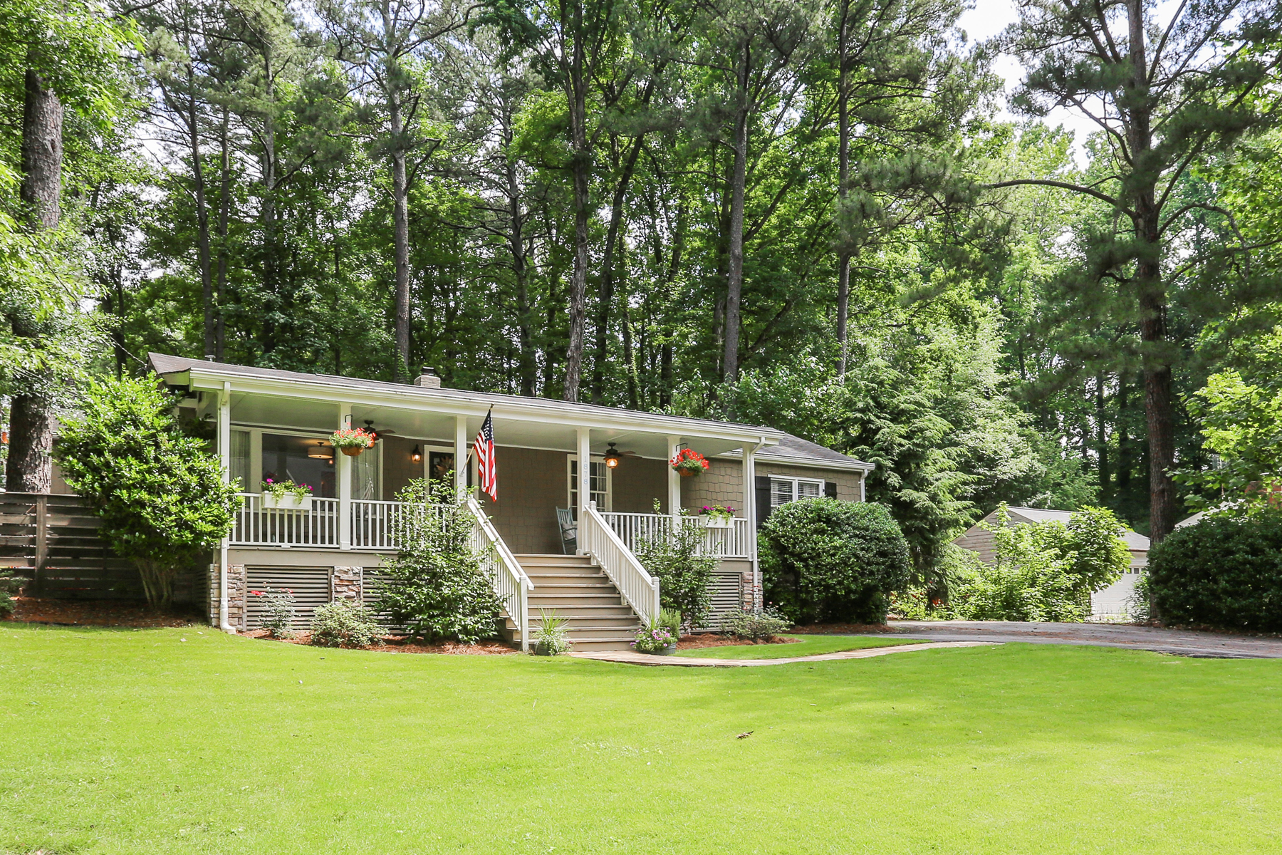 Single Family Home for Sale at Charming Ashford Park Bungalow 1878 Hickory Rd Chamblee, Georgia 30341 United States