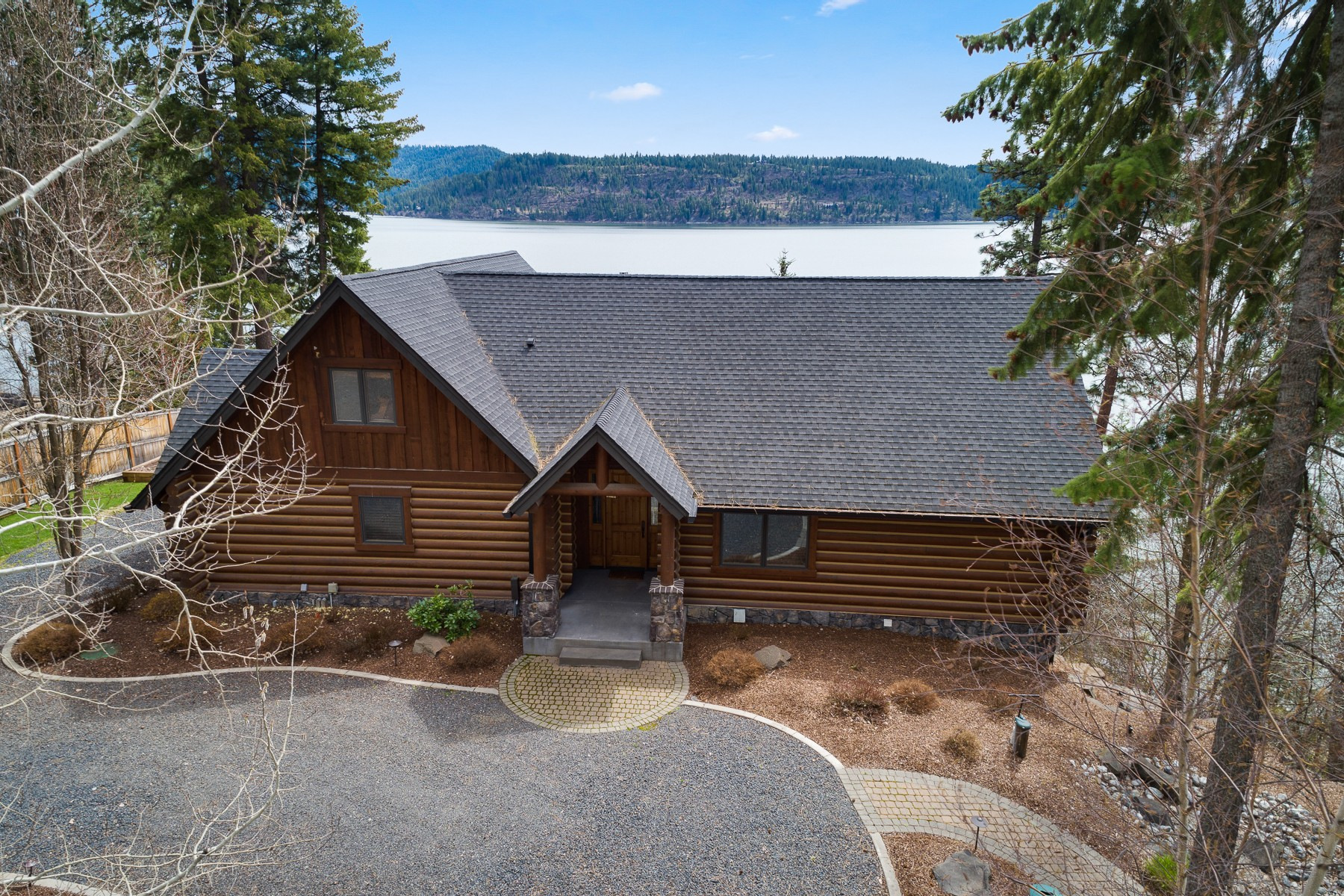 Single Family Homes for Sale at Welcome To The Lake! 6868 W Rockford Bay Road Coeur D Alene, Idaho 83814 United States