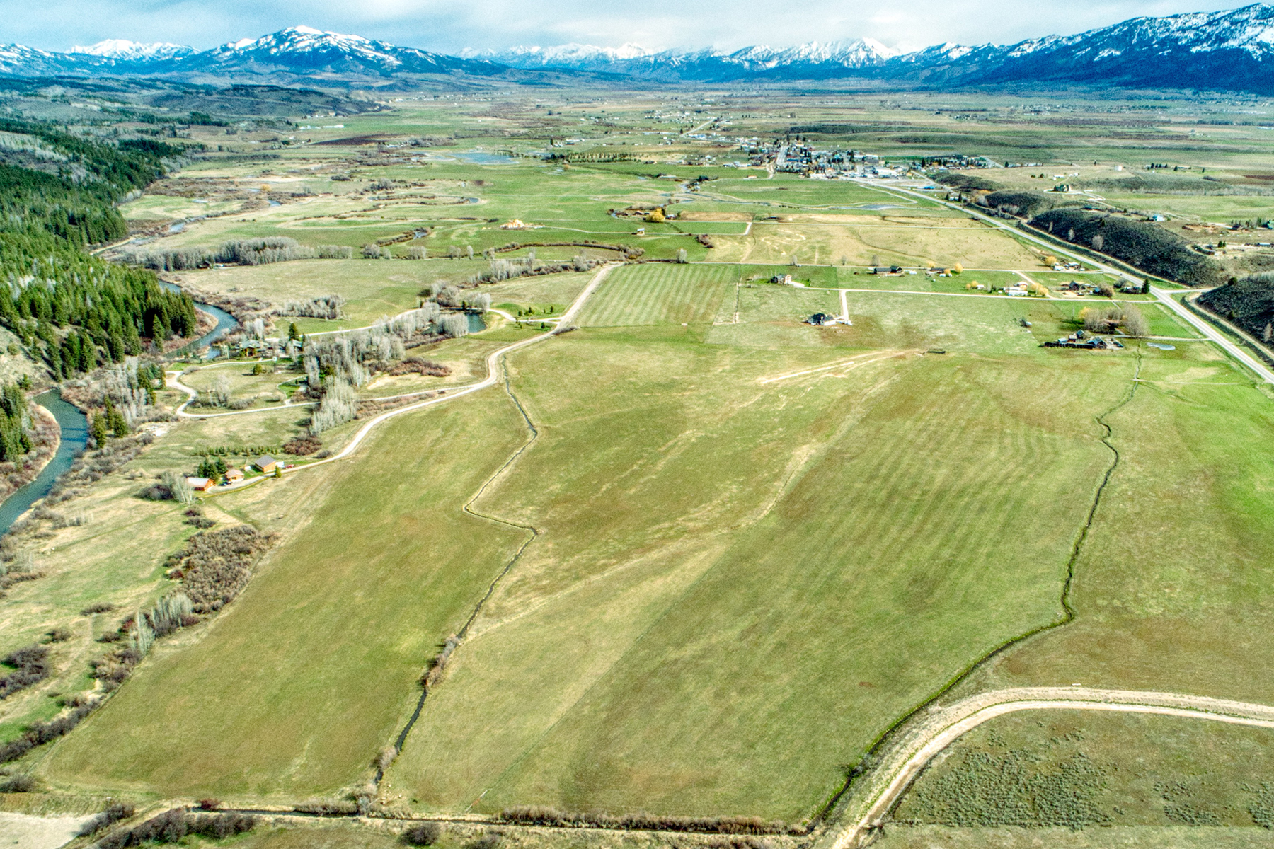 Farm / Ranch / Plantation for Active at River Crest Ranch TBD DOUBLE EAGLE RANCH ROAD Thayne, Wyoming WY United States