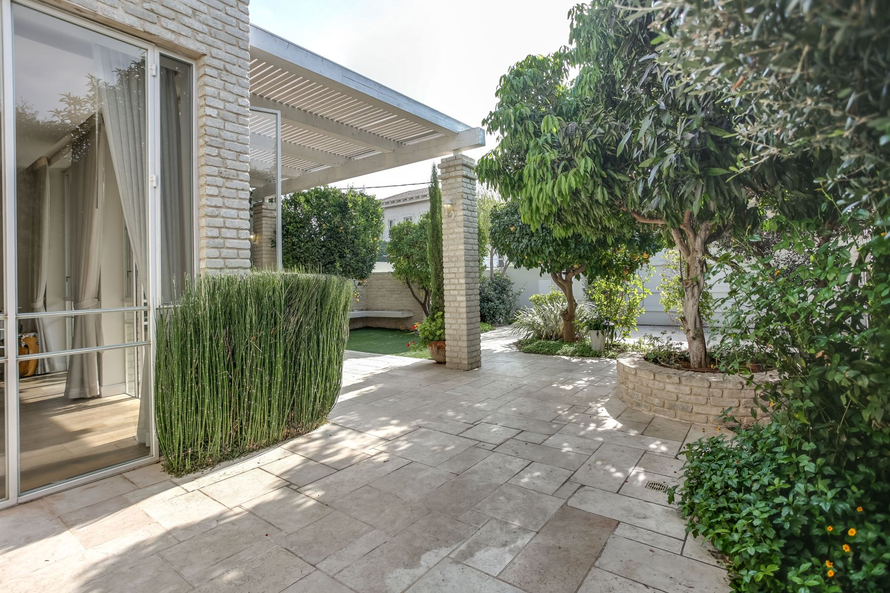 Single Family Home for Sale at Modern architecturally designed villa in Raanana. Ra'anana, Israel Israel