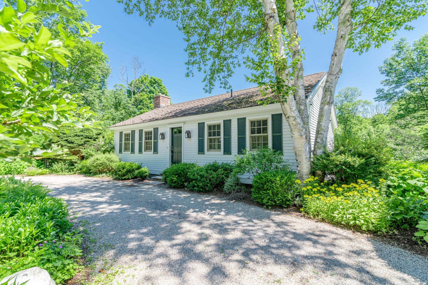 Single Family Homes for Sale at Updated & Delightful with River & Mountain Views! 276 Dorset West Road Dorset, Vermont 05251 United States