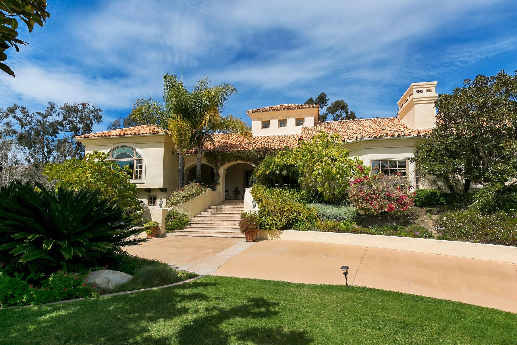 獨棟家庭住宅 為 出售 在 14660 Calle Carla Rancho Santa Fe, 加利福尼亞州, 92067 美國