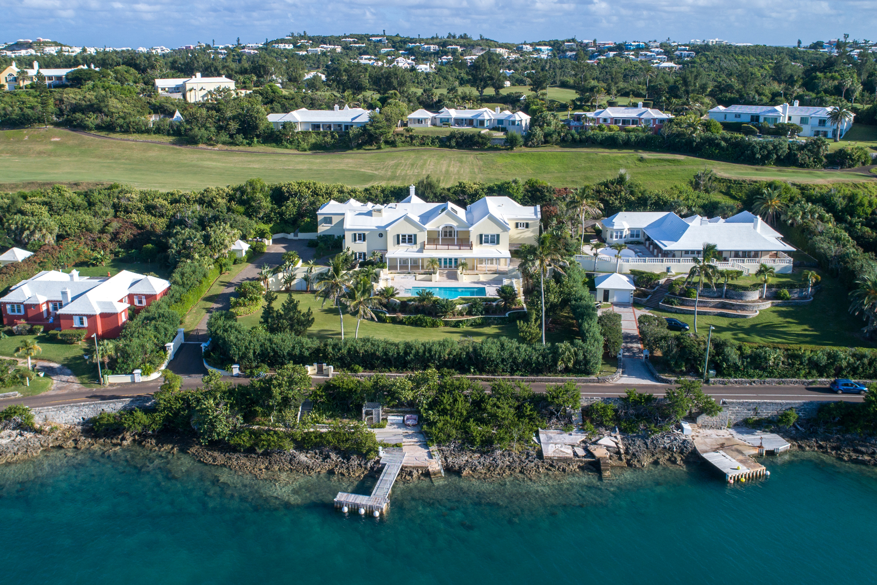 Single Family Homes for Sale at Coral Harbour 62 Harbour Road Warwick, Other Areas In Bermuda WK06 Bermuda