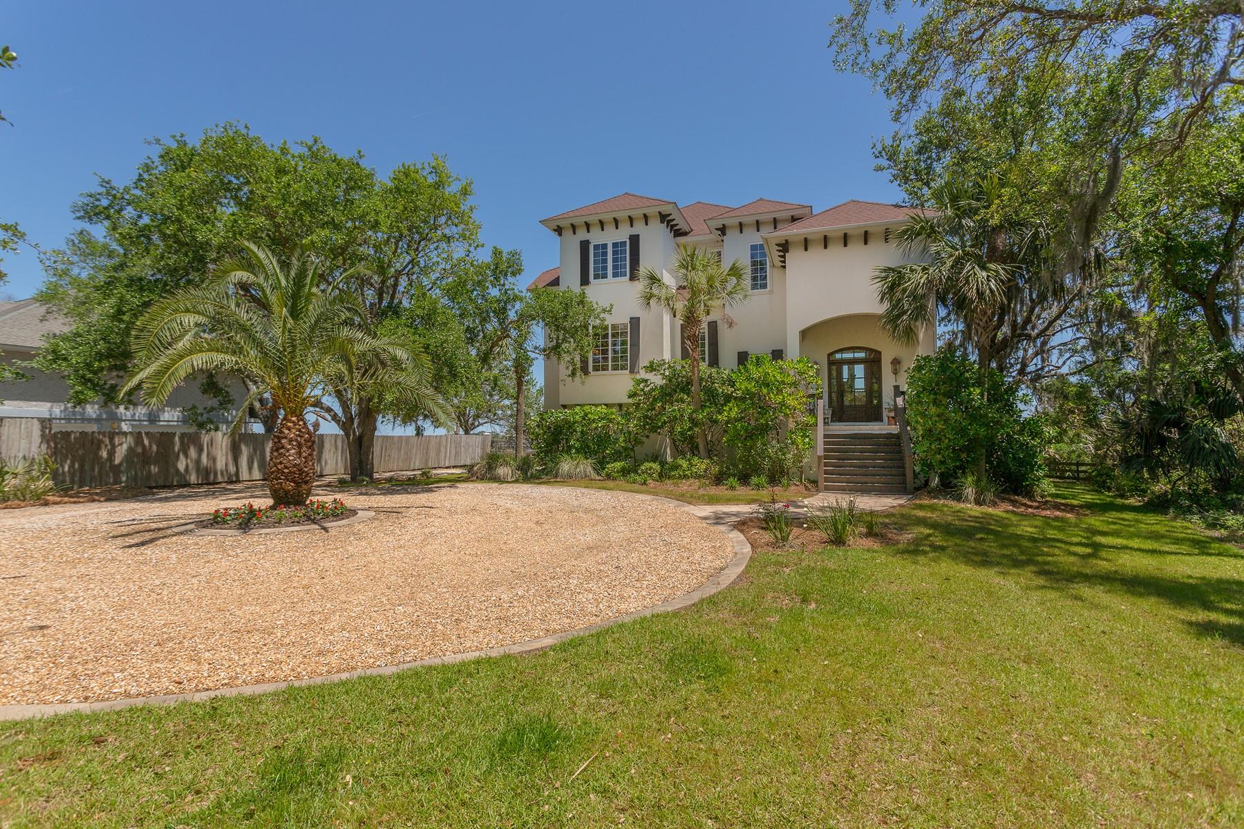 獨棟家庭住宅 為 出售 在 16 Yucca Lane 16 Yucca Lane St. Simons Island, 喬治亞州 31522 美國