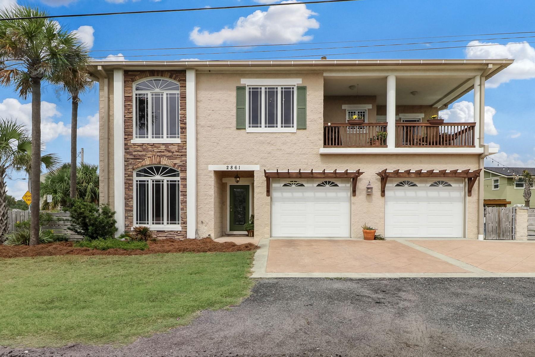 Single Family Homes por un Venta en 2861 6th W Street 2861 West 6th Street, Fernandina Beach, Florida 32034 Estados Unidos