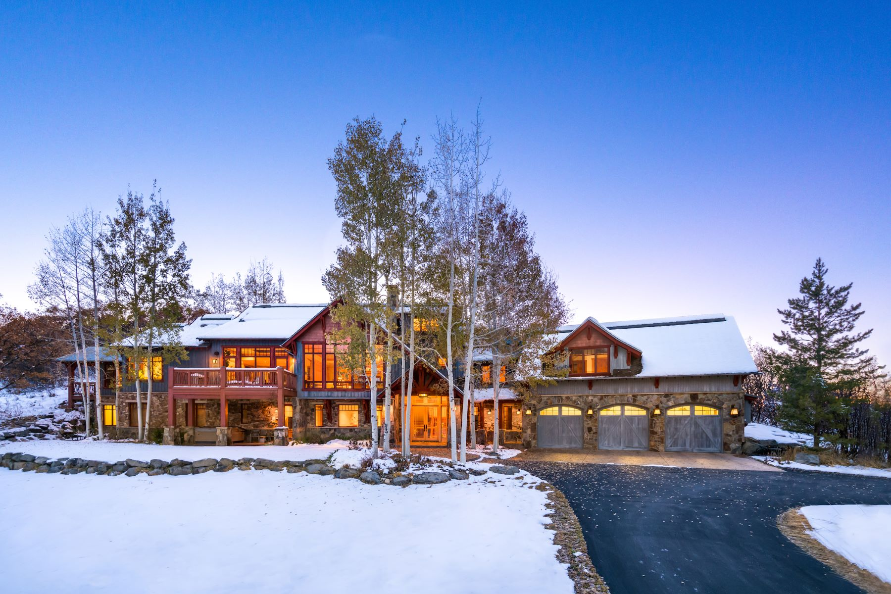 Single Family Homes for Sale at Steamboat Canyon View 33855 Canyon Court Steamboat Springs, Colorado 80487 United States