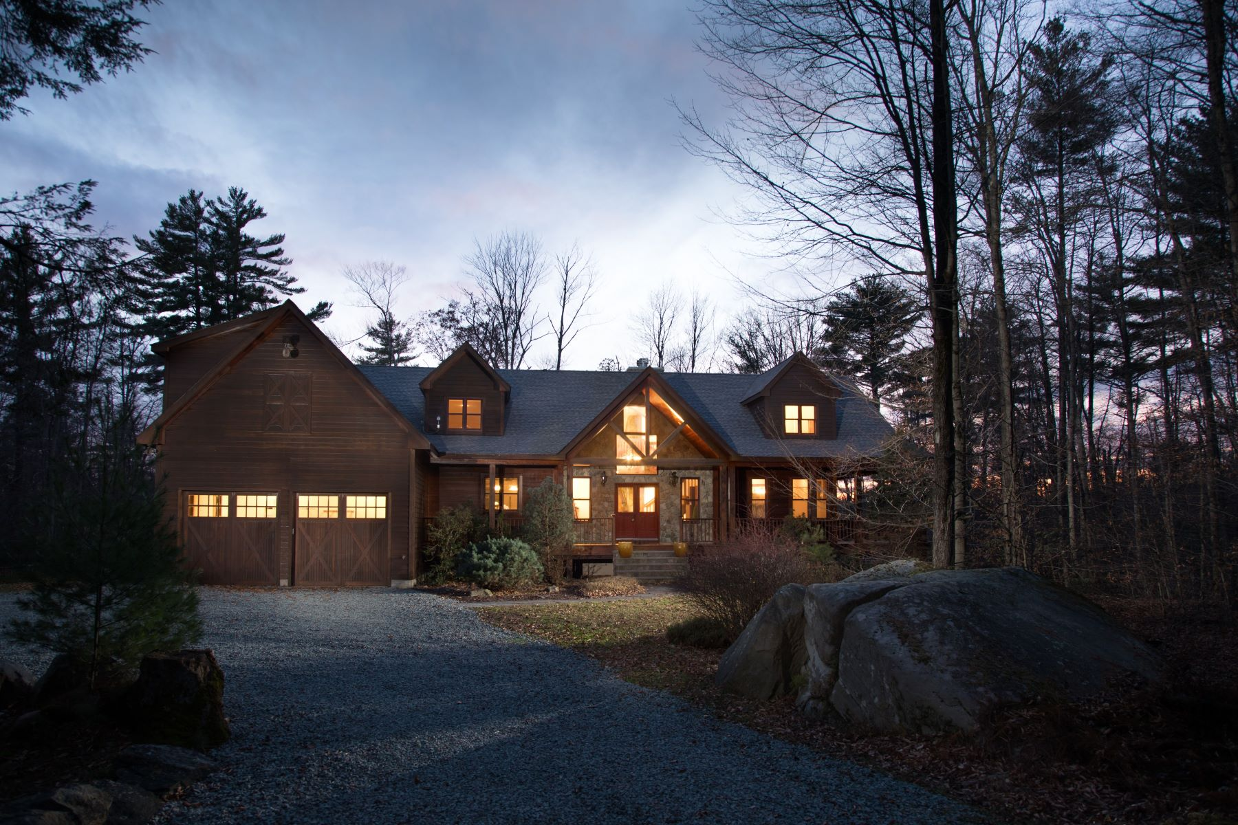 Single Family Homes for Sale at Majestic Wooded Paradise at The Chapin Estate 252 Woodstone Trl Bethel, New York 12720 United States