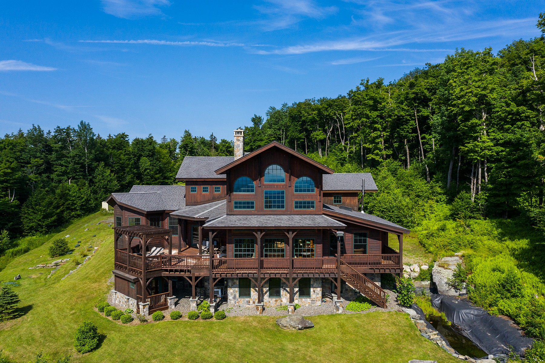 Single Family Homes for Sale at 28 Woodsman Rd Ext. Road, Dover 28 Woodsman Rd Dover, Vermont 05355 United States