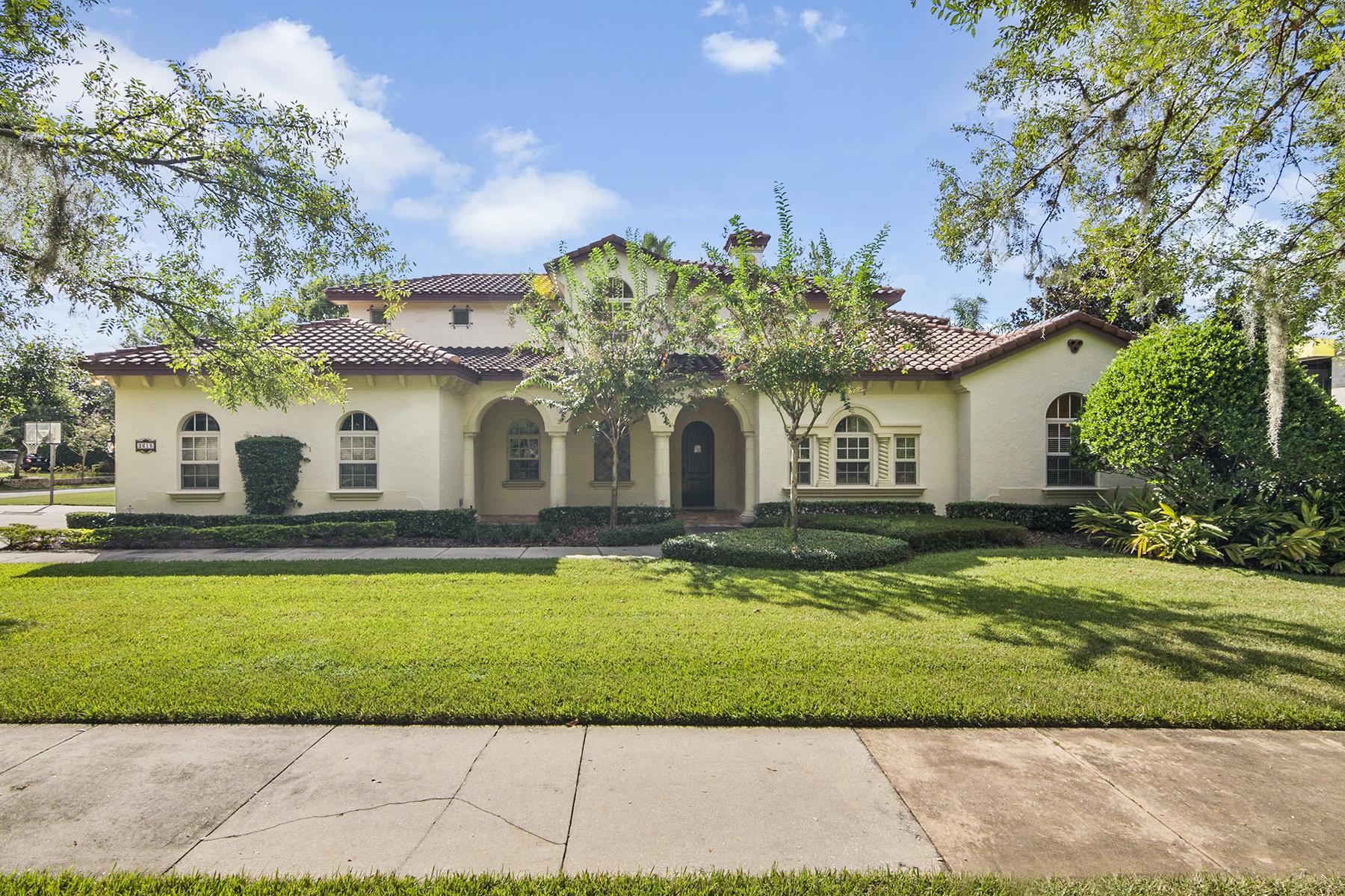 Single Family Homes für Verkauf beim Winter Park 2615 Via Tuscany Winter Park, Florida 32789 Vereinigte Staaten