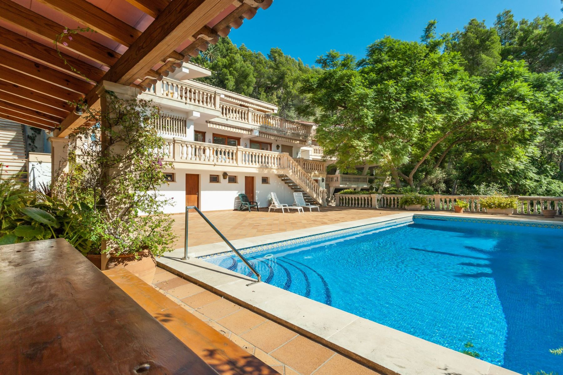 Maison unifamiliale pour l Vente à Californian style villa in Son Vida Son Vida, Balearic Islands, Espagne