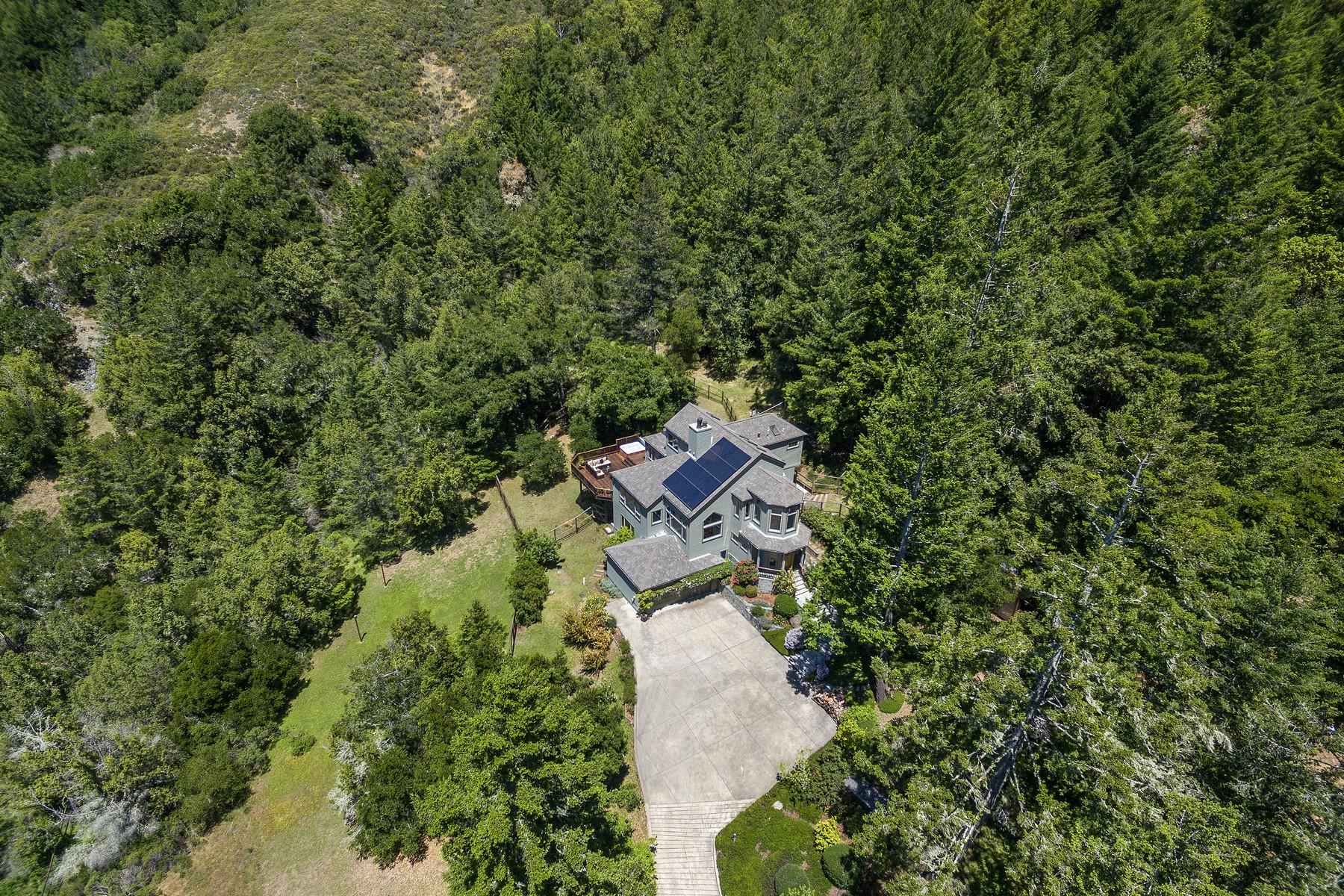 Single Family Homes para Venda às Nicasio Luxe 130 Camino Margarita, Nicasio, Califórnia 94946 Estados Unidos