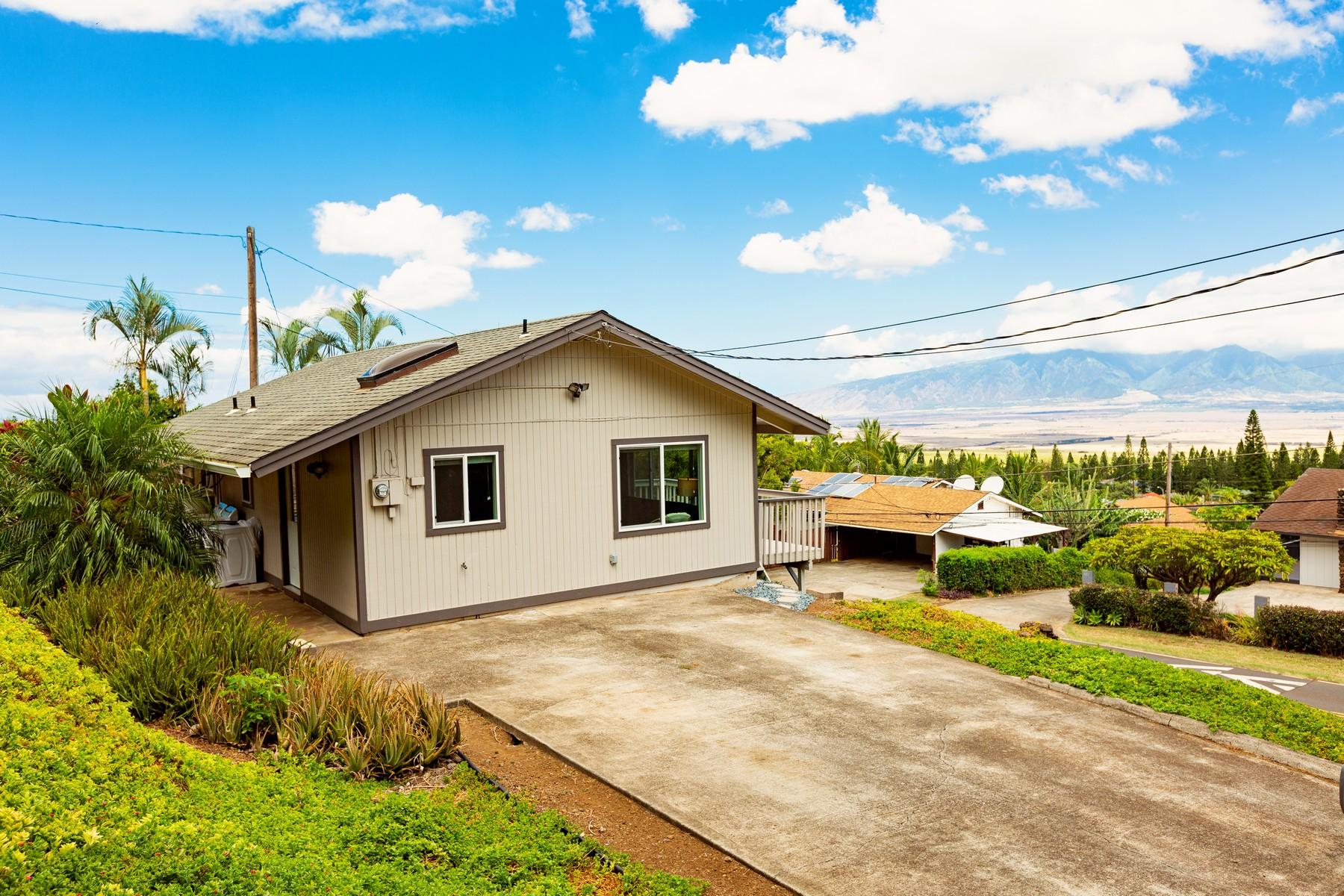 Single Family Homes για την Πώληση στο Pukalani Cottage 187 Haulani St, #B, Pukalani, Χαβαη 96768 Ηνωμένες Πολιτείες