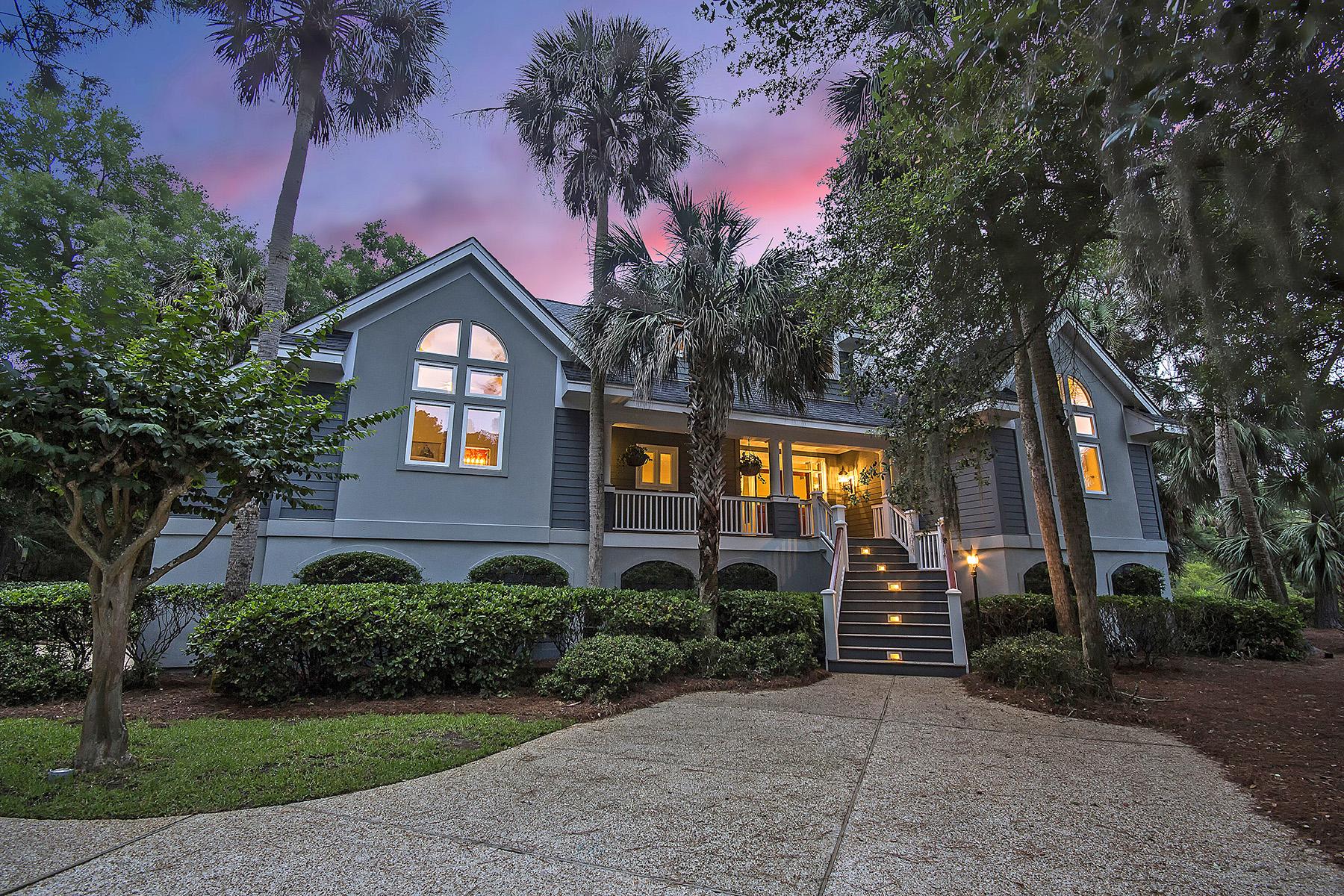 Single Family Homes for Active at 195 Governors Drive Kiawah Island, South Carolina 29455 United States
