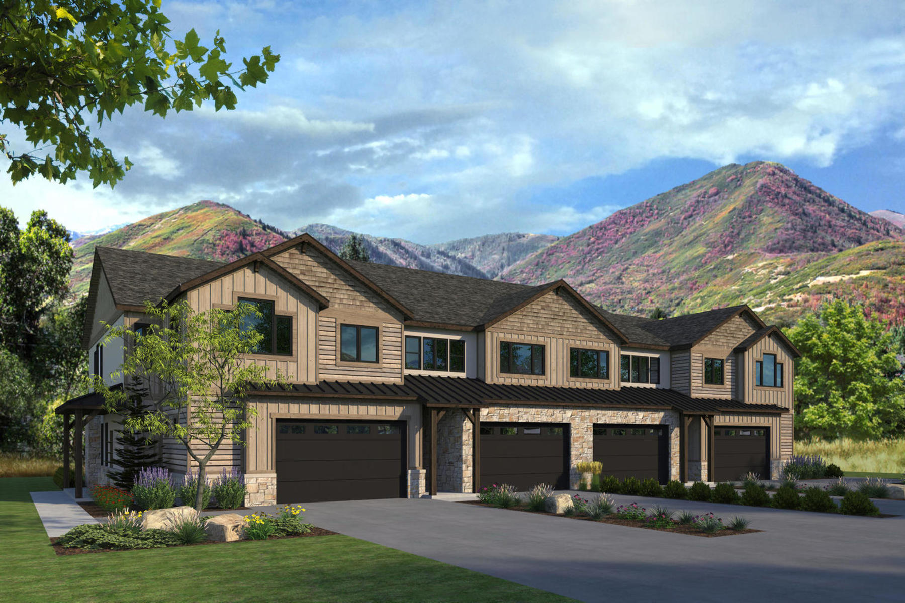 Condominiums for Active at Four Bedroom Town Home Now Under Construction in Midway 1125 North 520 West #39 Midway, Utah 84049 United States