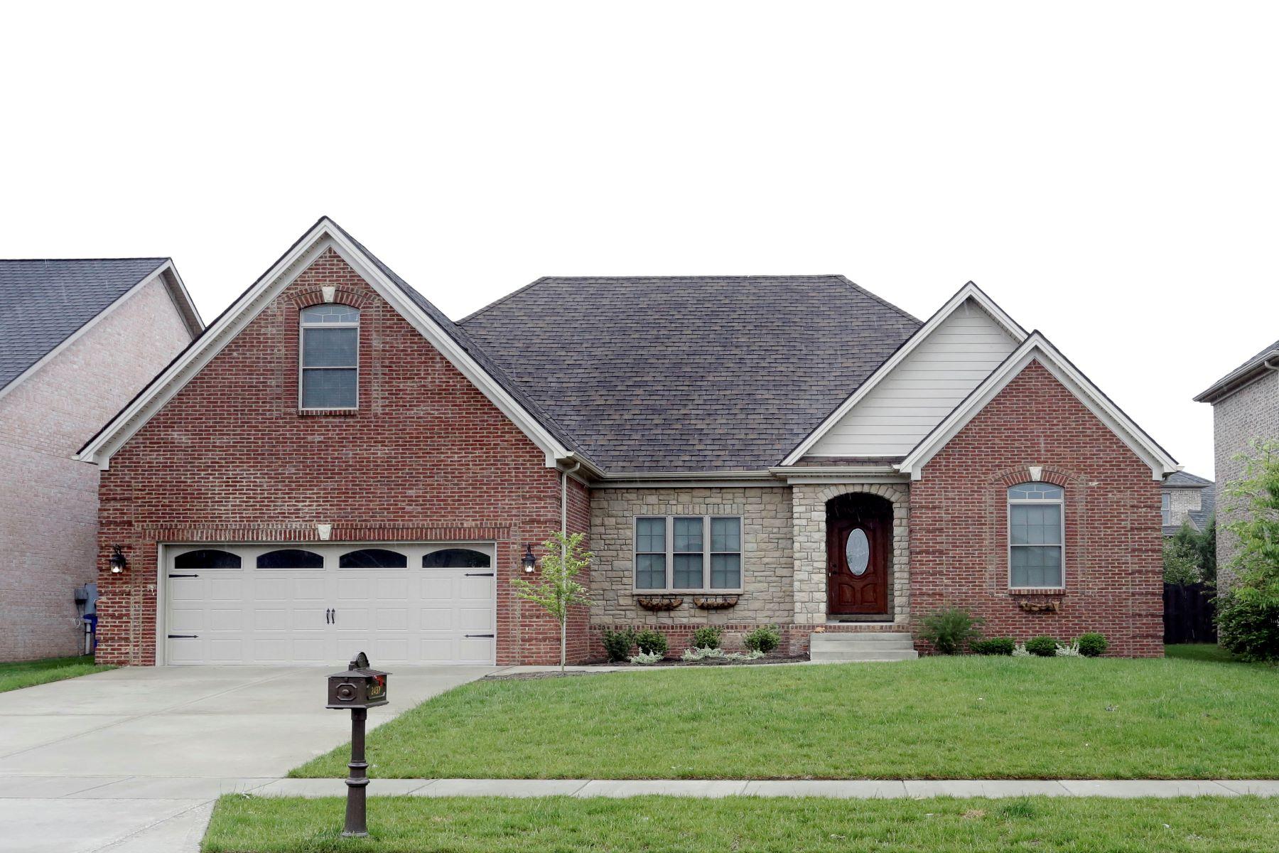 Single Family Home for Sale at 2437 Coroneo Lane Lexington, Kentucky 40509 United States