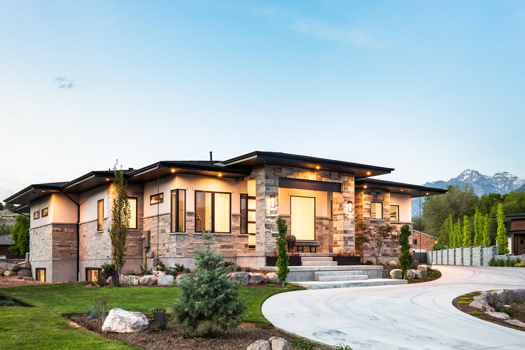 Single Family Homes for Sale at Luxurious Modern Masterpiece 1321 Crossgrove Ct Draper, Utah 84020 United States
