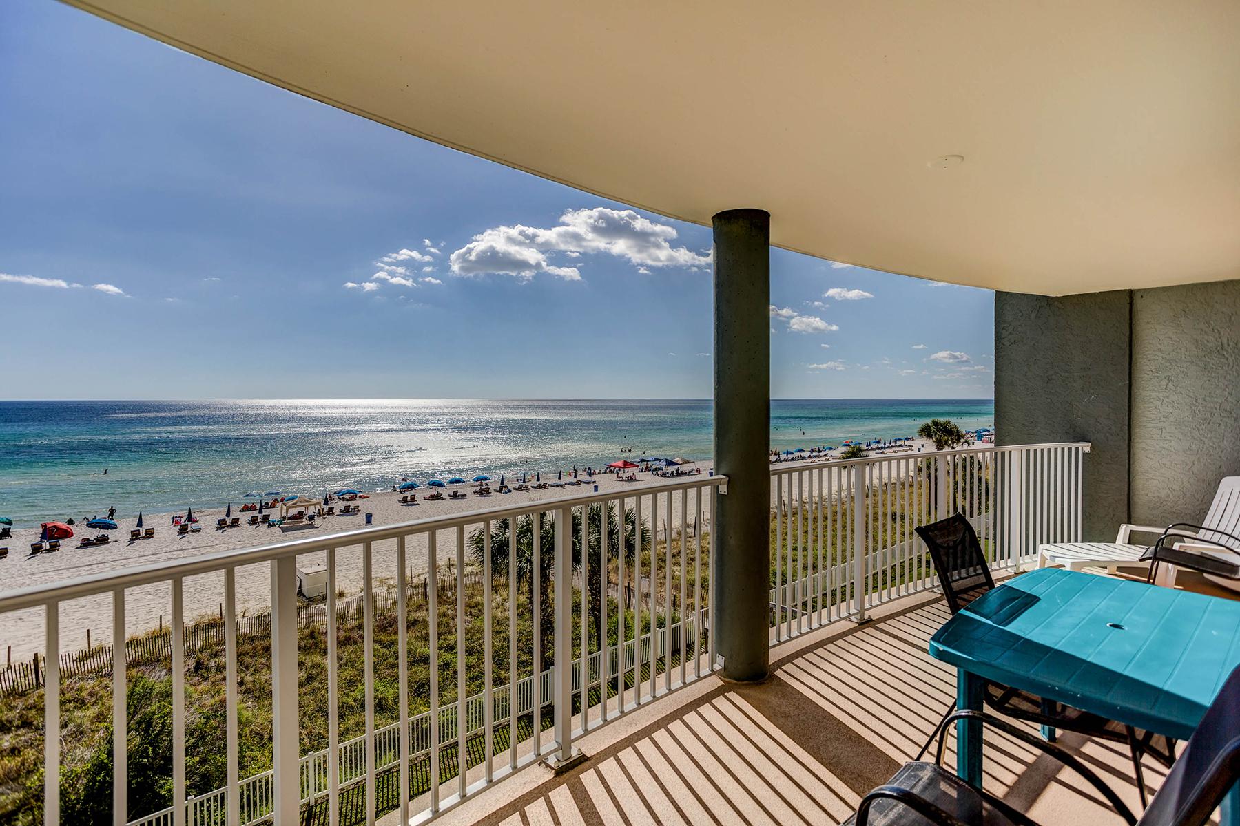 Condomínio para Venda às STUNNING GULF VIEWS FROM AN IDEAL FLOOR HEIGHT 10509 Front Beach Road 302 Panama City, Florida, 32407 Estados Unidos