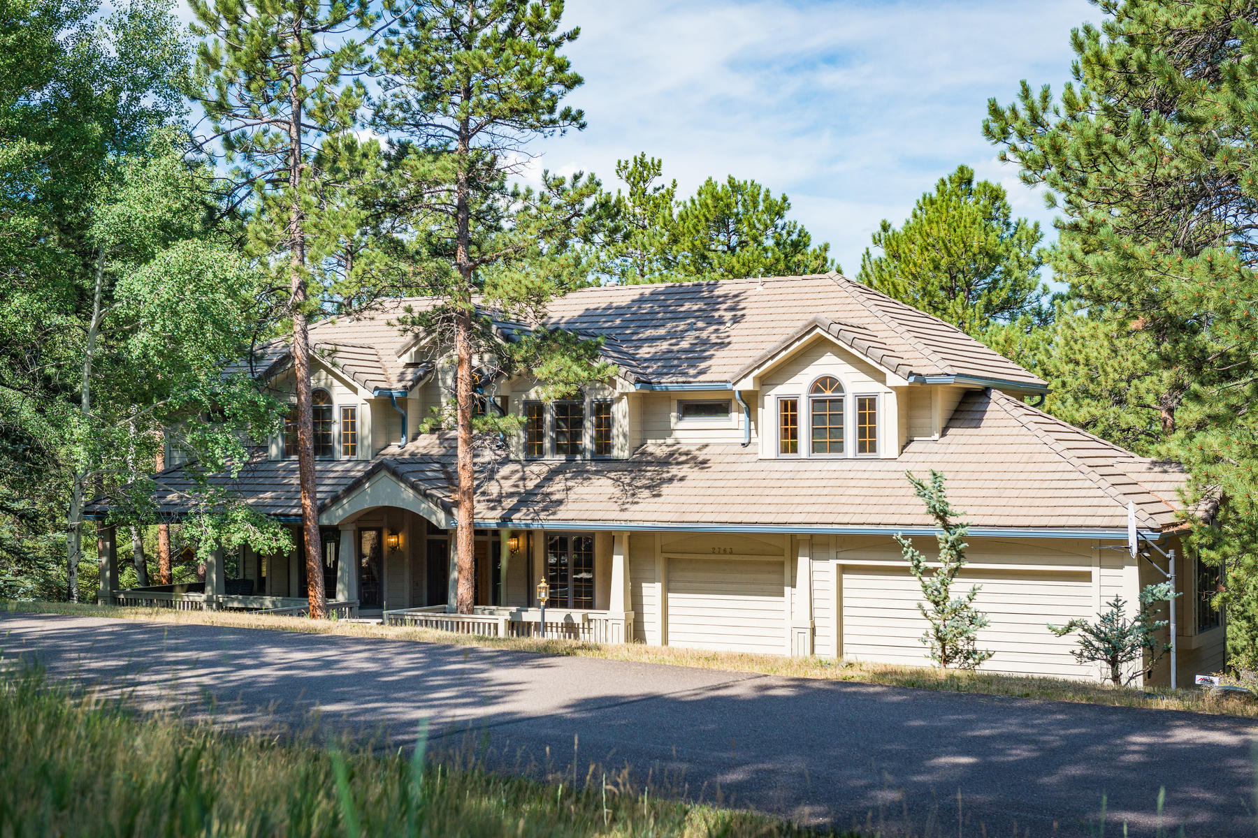Single Family Home for Active at Serenity in the Ridge 2763 Cortina Lane Evergreen, Colorado 80439 United States