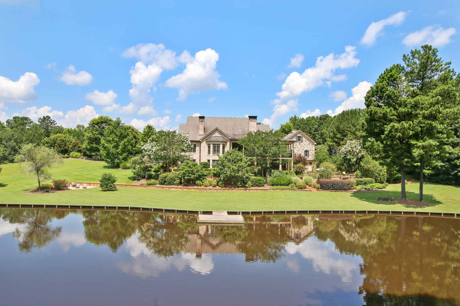 農場 / 牧場 / 種植場 為 出售 在 Magnificent Equestrian and Recreational Estate 480 JD Walton Road Newnan, 喬治亞州, 30263 美國