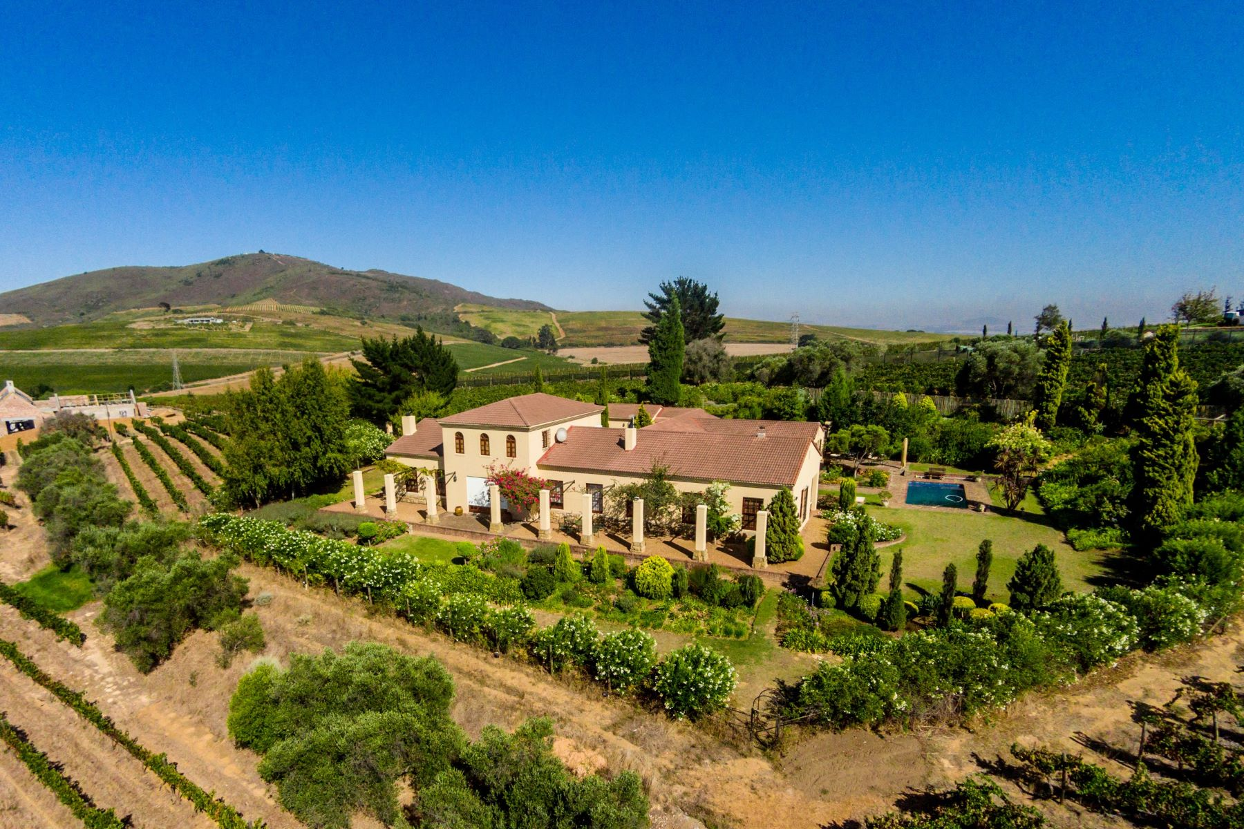 Hacienda / Granja / Rancho / Plantación por un Venta en Unsurpassed views in sought after Devon Valley Stellenbosch, Provincia Occidental Del Cabo, 7600 Sudáfrica