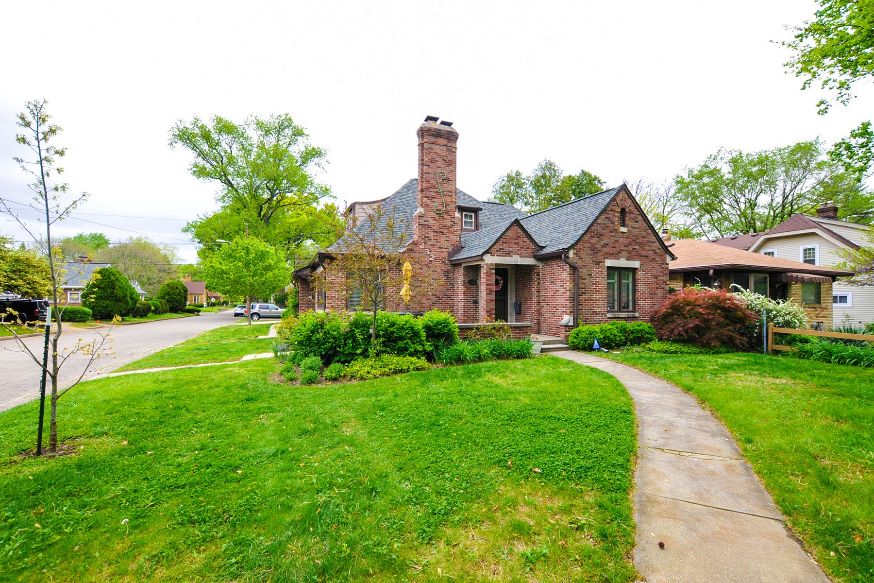 Single Family Home for Sale at Remarkable English Tudor Home 232 Berkley Road Indianapolis, Indiana 46208 United States