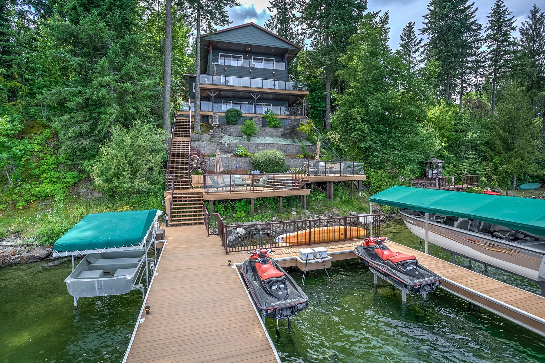 단독 가정 주택 용 매매 에 Murphy Bay Lifestyle 2555 Lakeshore Dr Sandpoint, 아이다호, 83864 미국
