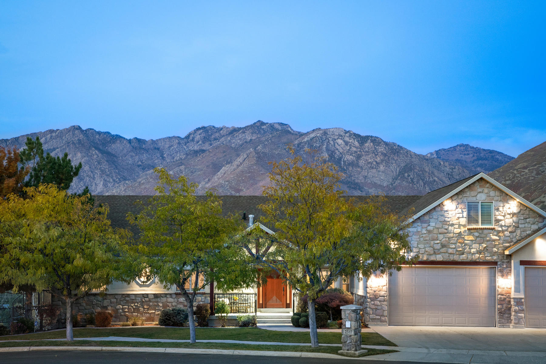Single Family Homes for Sale at Picture Perfect Views! 2587 E Willow Wick Ct, Sandy, Utah 84093 United States