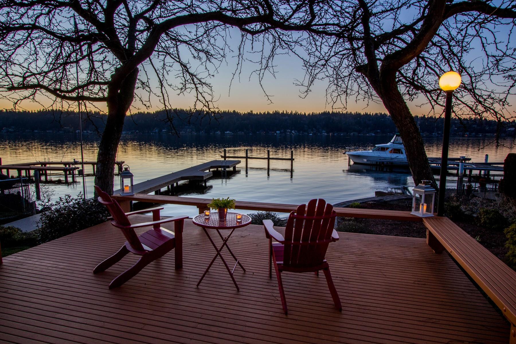 Additional photo for property listing at Lakehurst Lane Waterfront 4737 Lakehurst Lane Bellevue, Washington 98006 United States