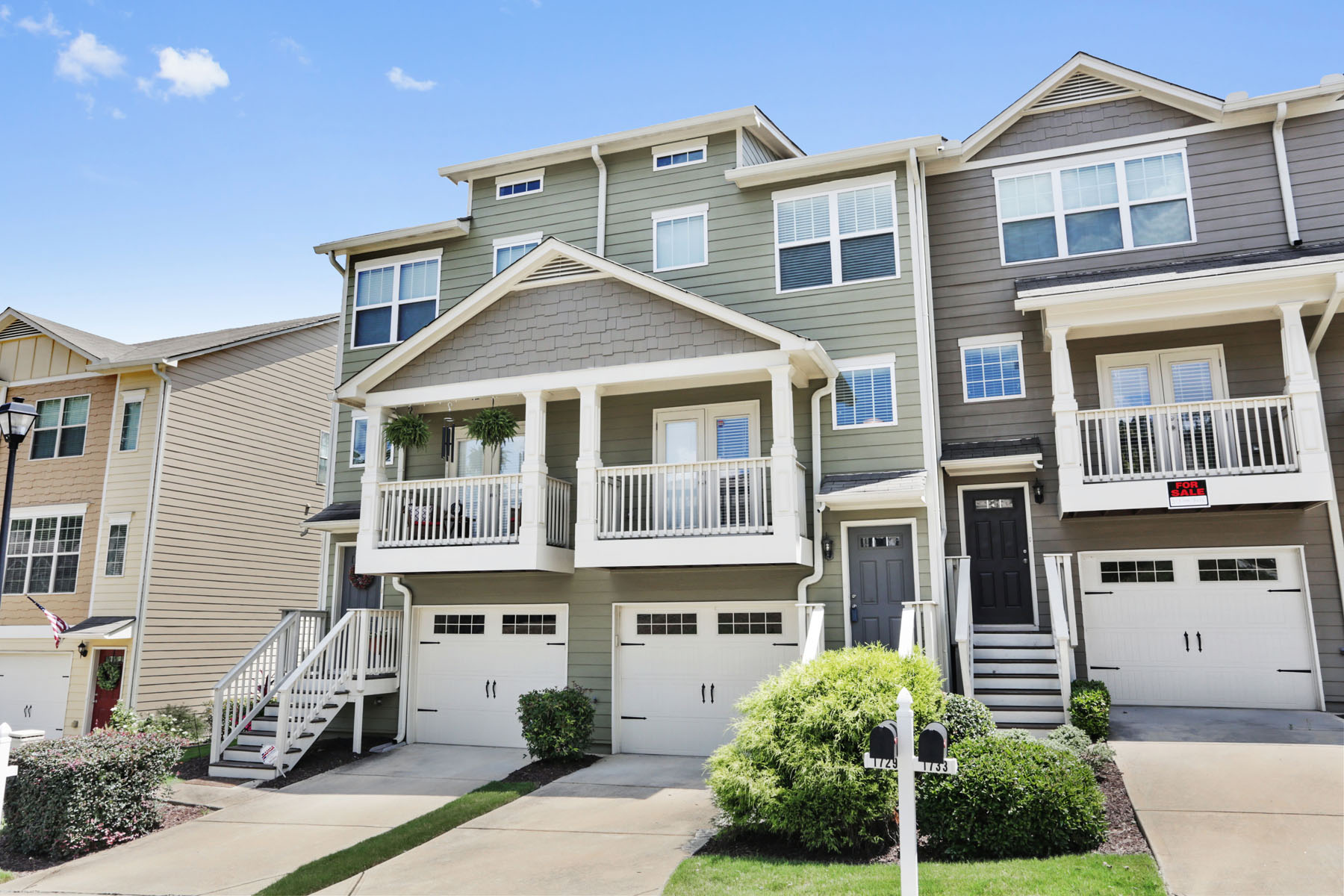 Townhouse for Rent at Liberty Park Townhome 1729 Liberty Parkway, Atlanta, Georgia, 30318 United States