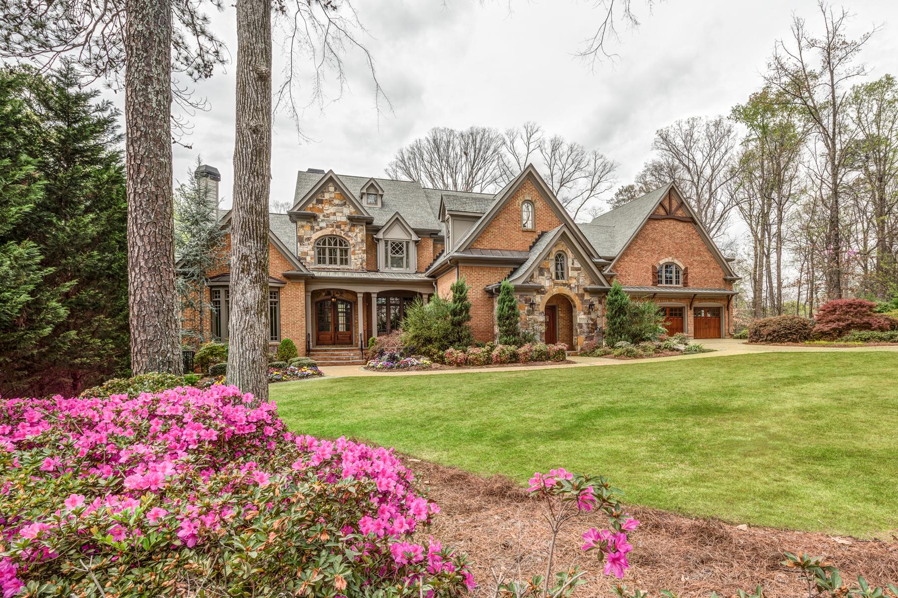 獨棟家庭住宅 為 出售 在 Exclusive Buckhead Retreat 280 Old Ivy Road Buckhead, Atlanta, 喬治亞州, 30342 美國