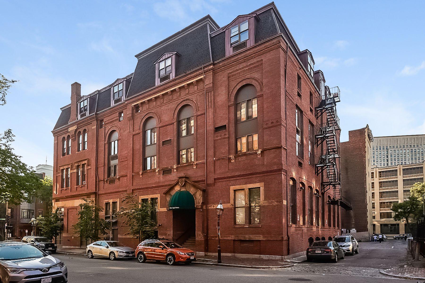 Condominio por un Venta en 9 Appleton Street M-2, Boston 9 Appleton St M-2 Boston, Massachusetts, 02116 Estados Unidos