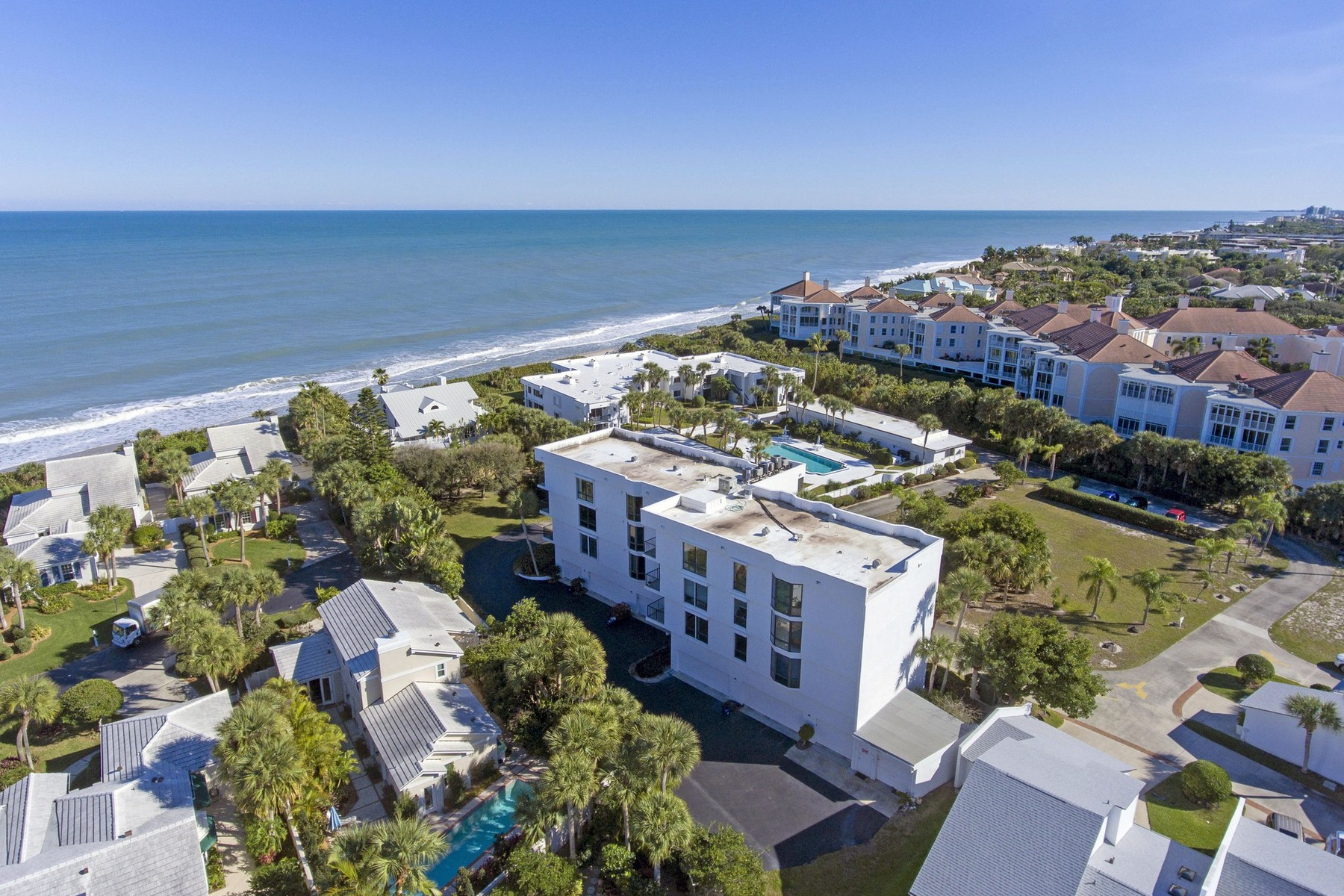 Condominium for Sale at Second Floor Condo With Ocean Views 5810 Highway A1A #2B Vero Beach, Florida 32963 United States