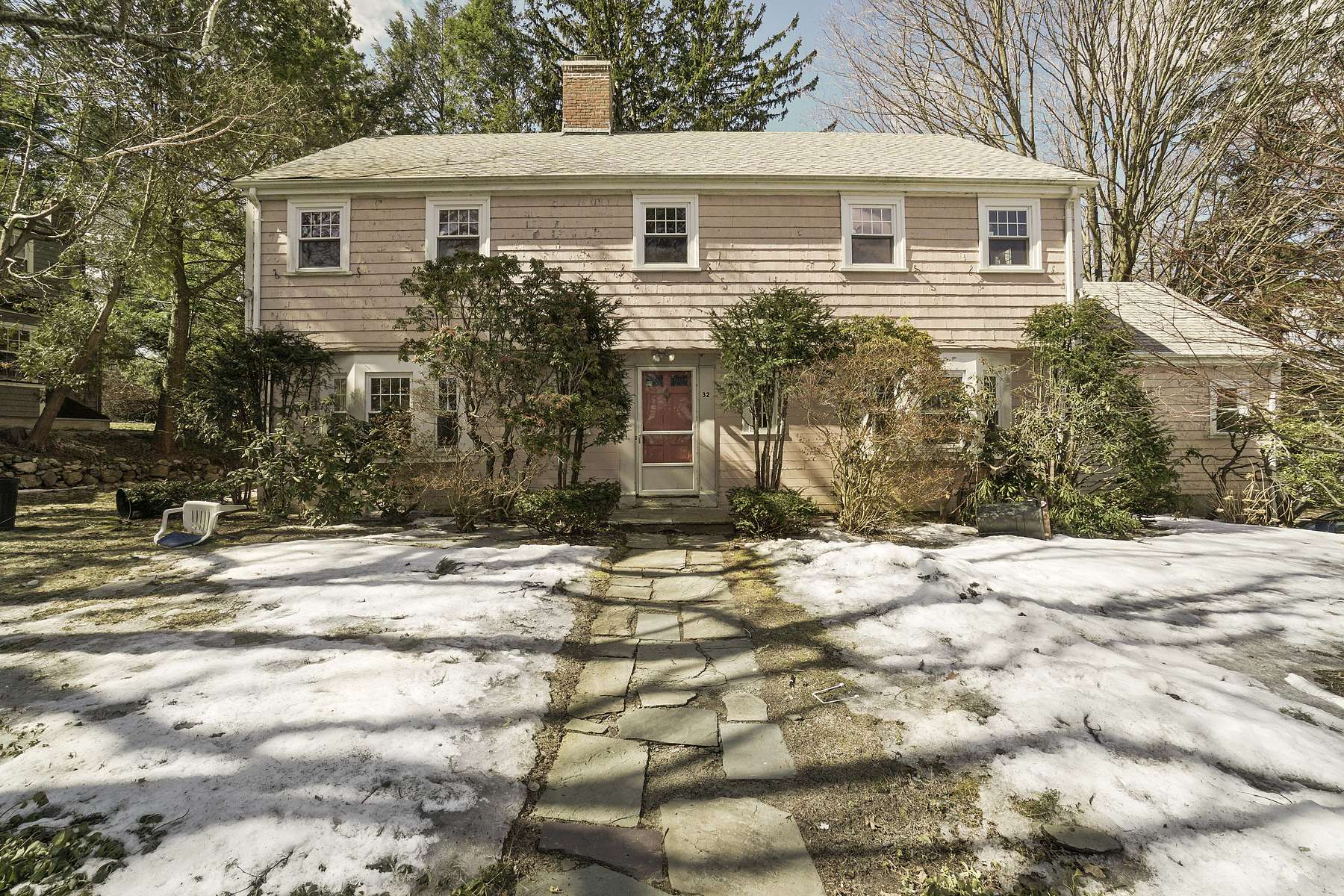 Single Family Home for Active at 32 Ross Road Belmont, Massachusetts 02478 United States