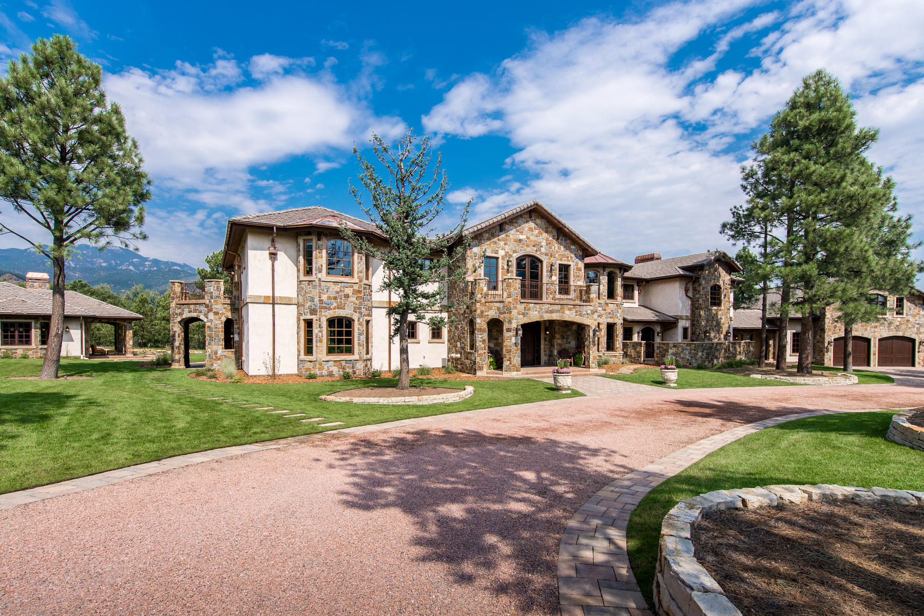 Single Family Home for Active at The most spectacular home in Colorado Springs! 22 Crossland Rd Colorado Springs, Colorado 80906 United States