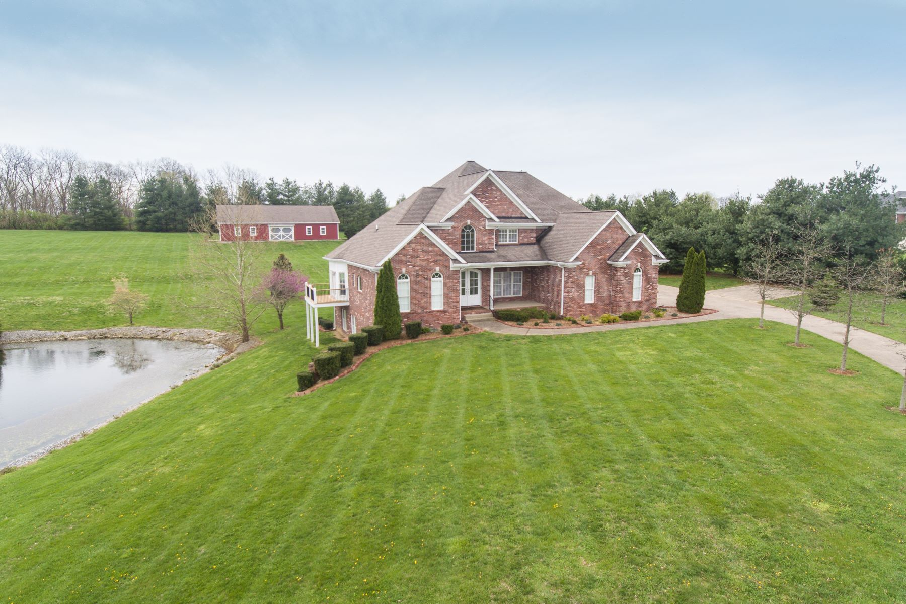 Single Family Home for Sale at 1100 Majestic Oaks Way 1100 Majestic Oaks Way Simpsonville, Kentucky 40067 United States