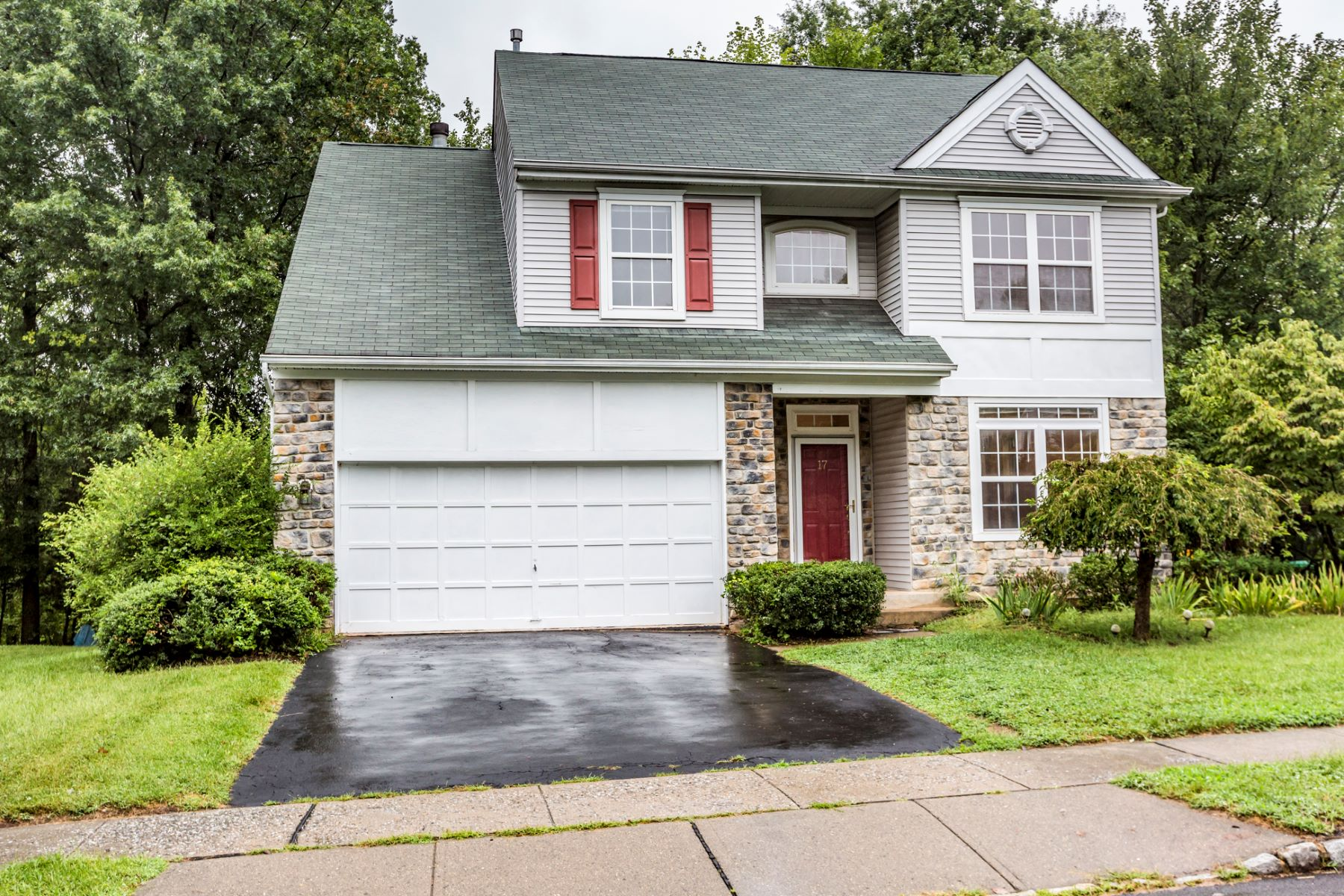 Single Family Home for Sale at In Convenient Woodsedge With 3 Finished Levels 17 Harvard Circle, Princeton, New Jersey 08540 United StatesMunicipality: Montgomery Township