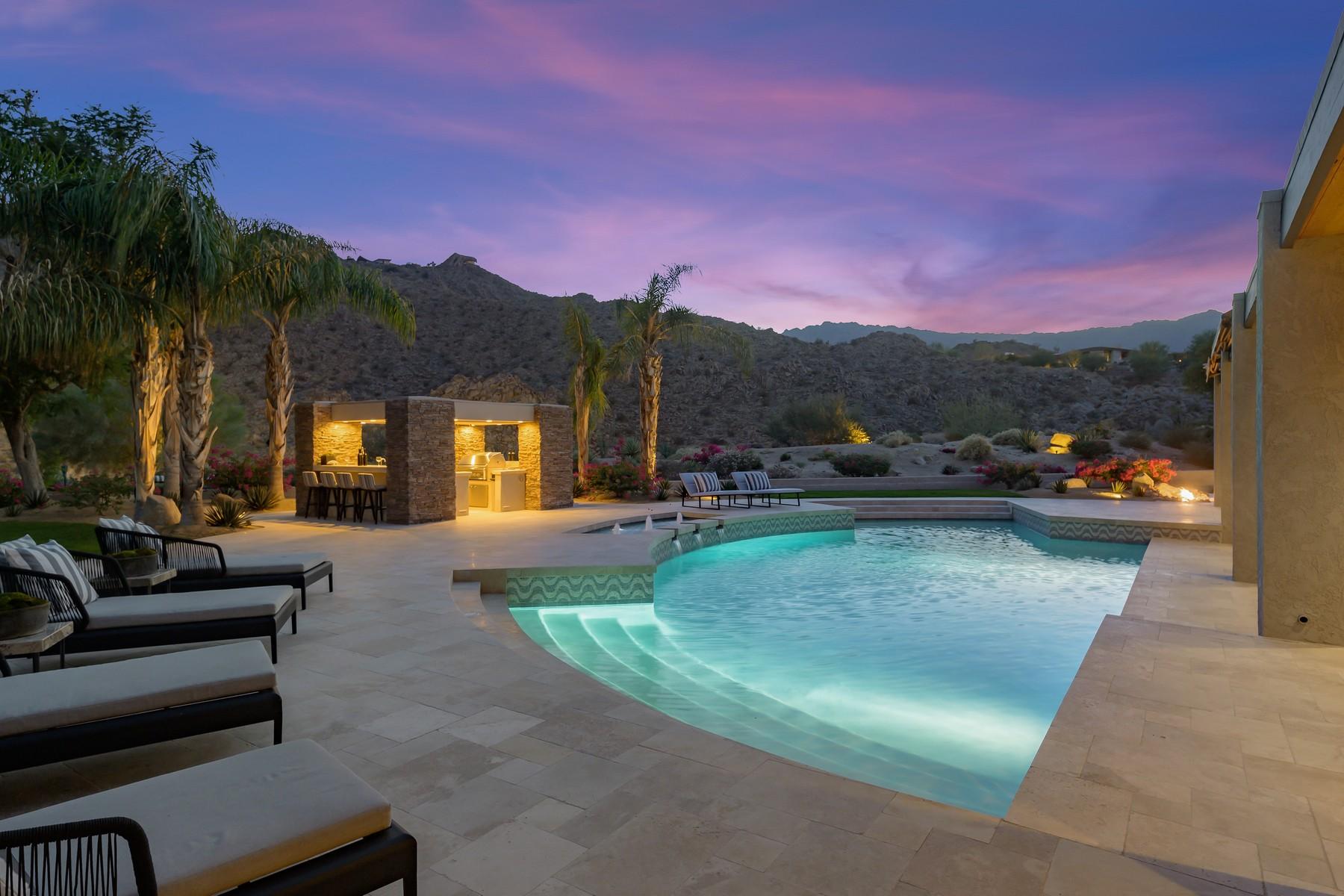 Single Family Homes por un Venta en 49355 Sunrose Lane Palm Desert, California 92260 Estados Unidos