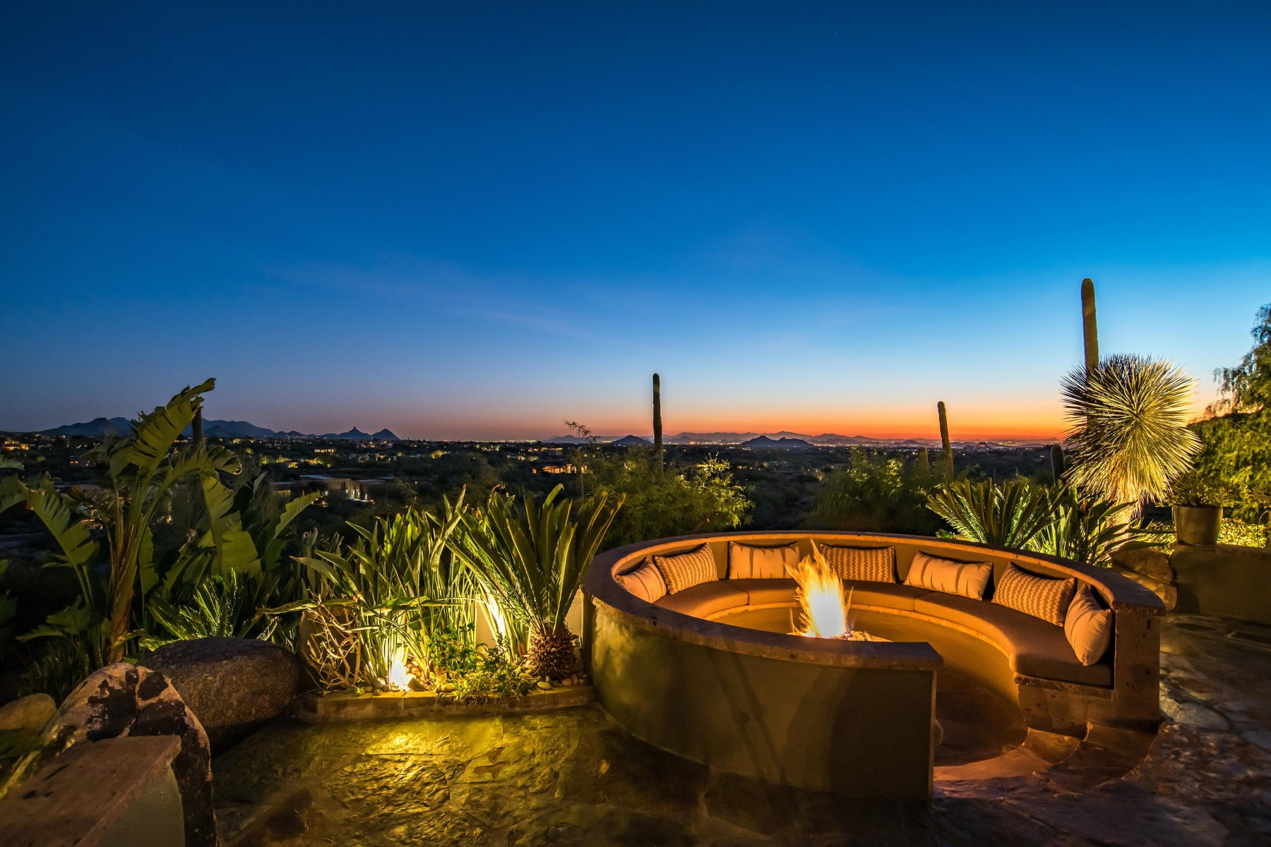 Single Family Home for Sale at 5 Acre Hillside Estate in Carefree Ranch 38819 N Alister McKenzie Dr, Scottsdale, Arizona, 85262 United States