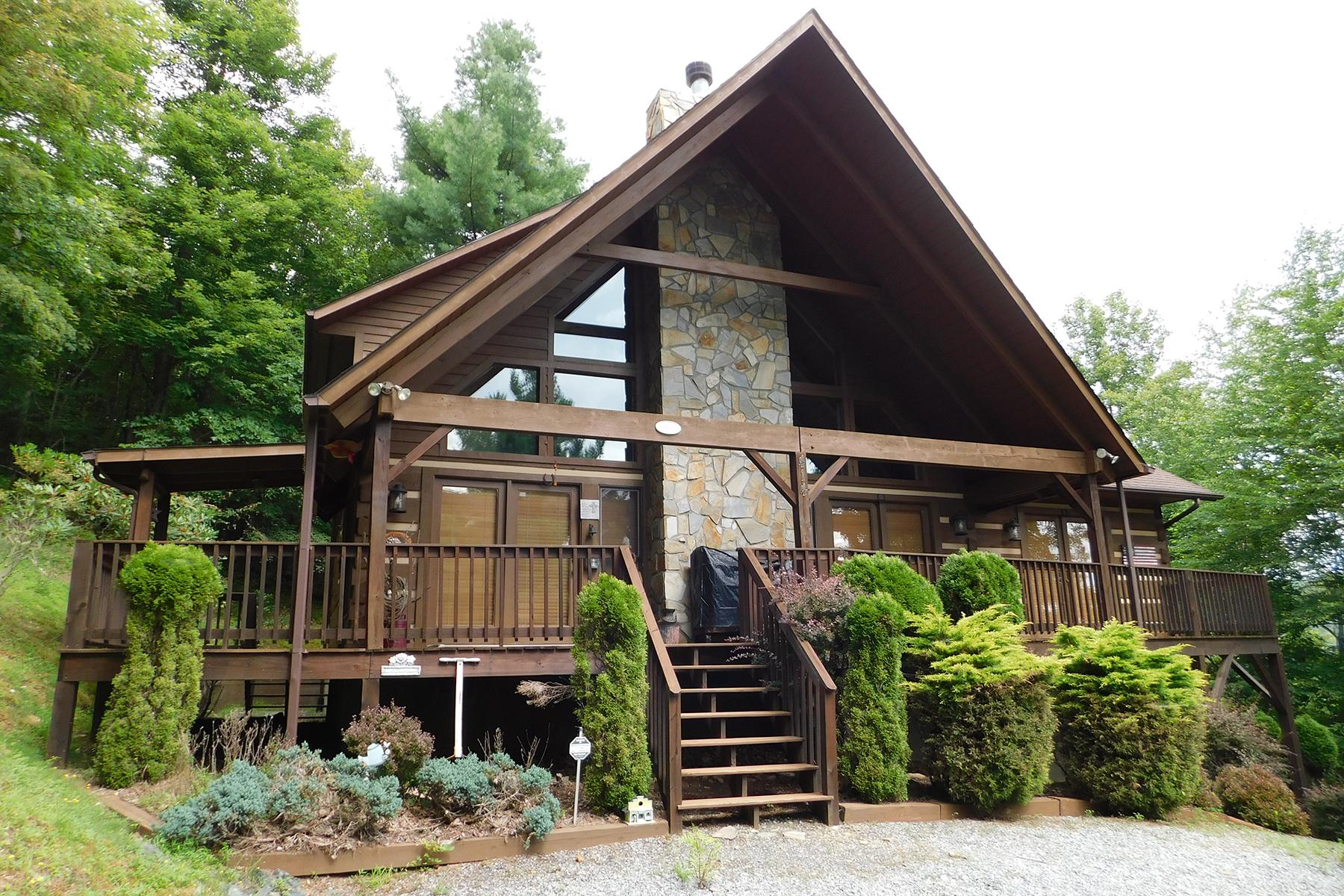Single Family Homes por un Venta en WILDCAT ESTATE - DEEP GAP 414 Wildcat Estates Dr, Deep Gap, Carolina Del Norte 28618 Estados Unidos