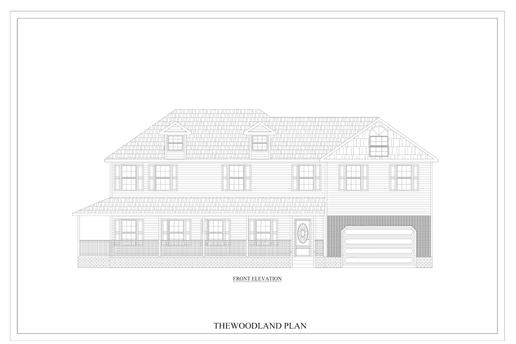 Single Family Homes для того Продажа на Woodland 2425 Mandolin, Lot 15, Chesapeake, Виргиния 23321 Соединенные Штаты