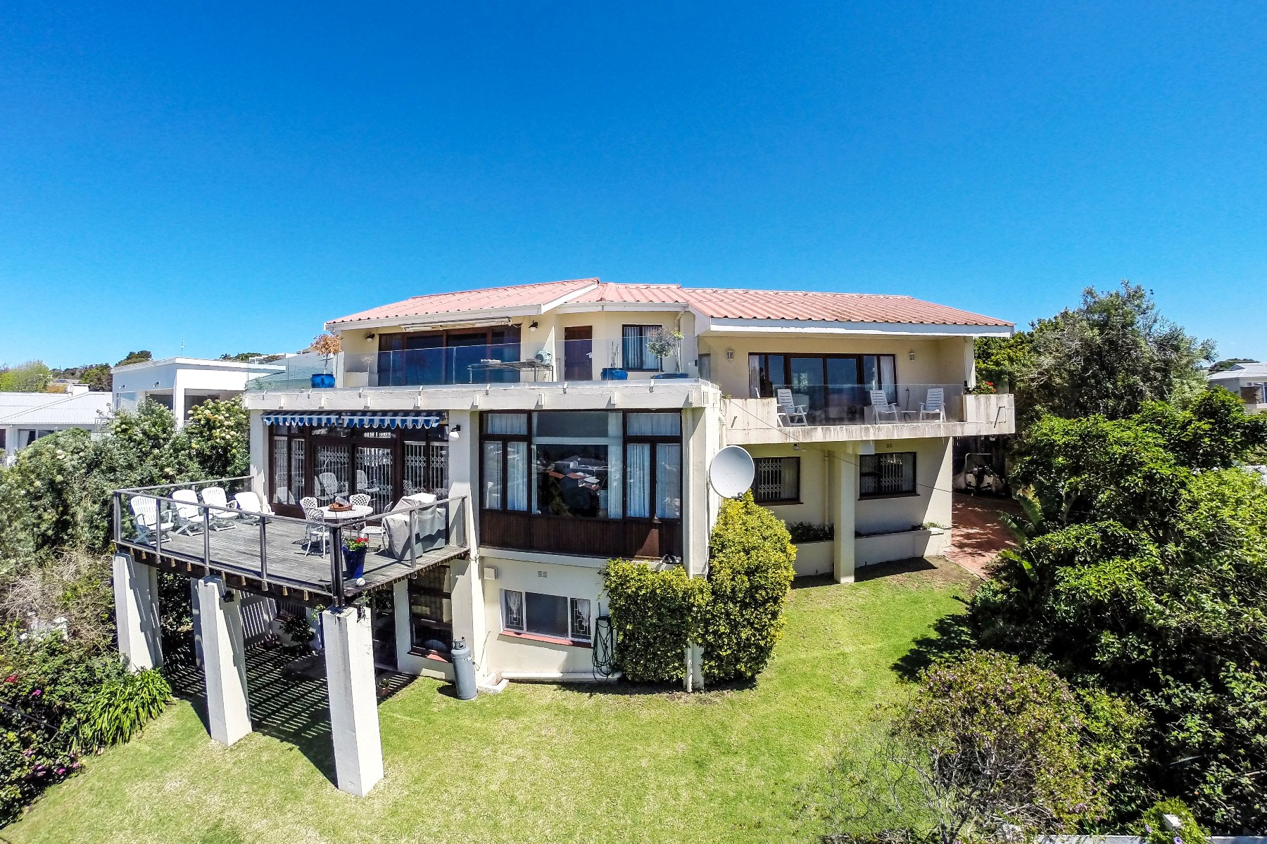 Single Family Home for Sale at Old Plett panoramic sea view home Plettenberg Bay, Western Cape, 6600 South Africa