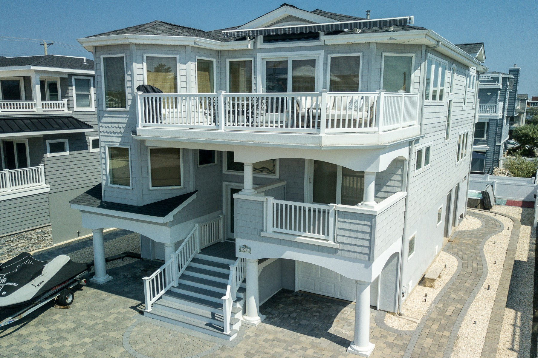 Single Family Home for Sale at CEDAR'S BREEZE 7 E. 85th Street Harvey Cedars, New Jersey 08008 United States